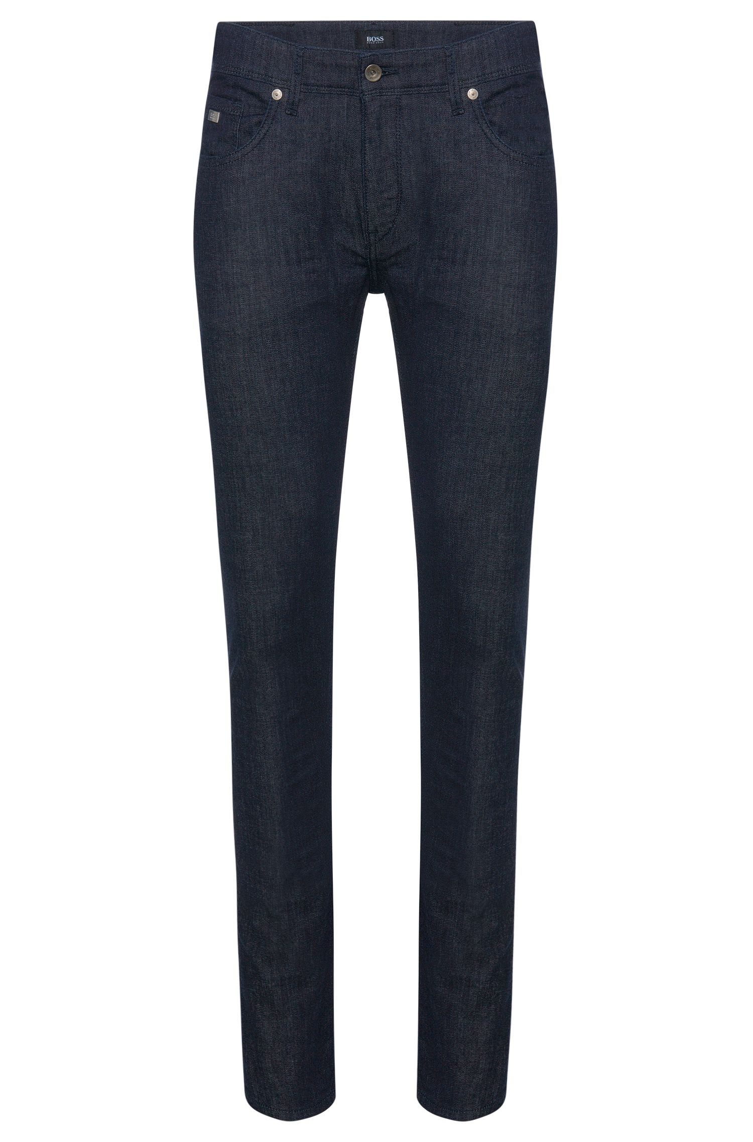 Slim-fit jeans in stretch cotton: 'Charleston3'