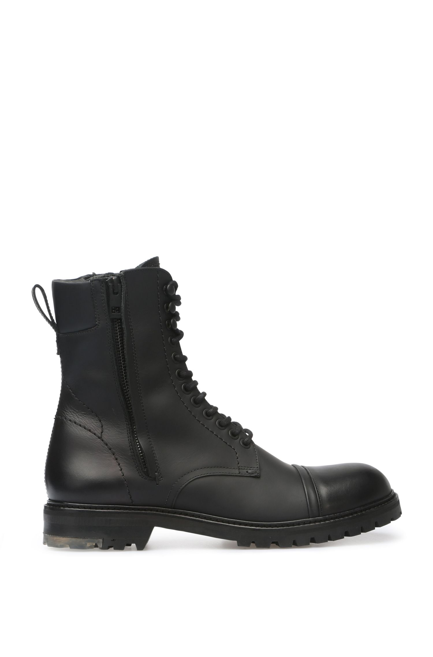 Leather boots in military style: 'Tonkin_Boot_lt'