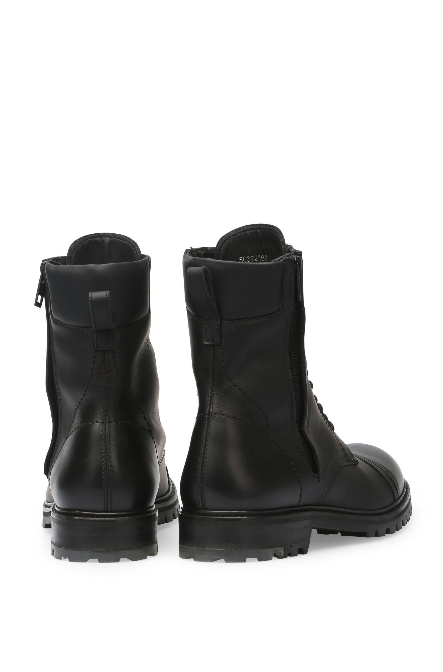 Leren laarzen in military-stijl: 'Tonkin_Boot_lt'