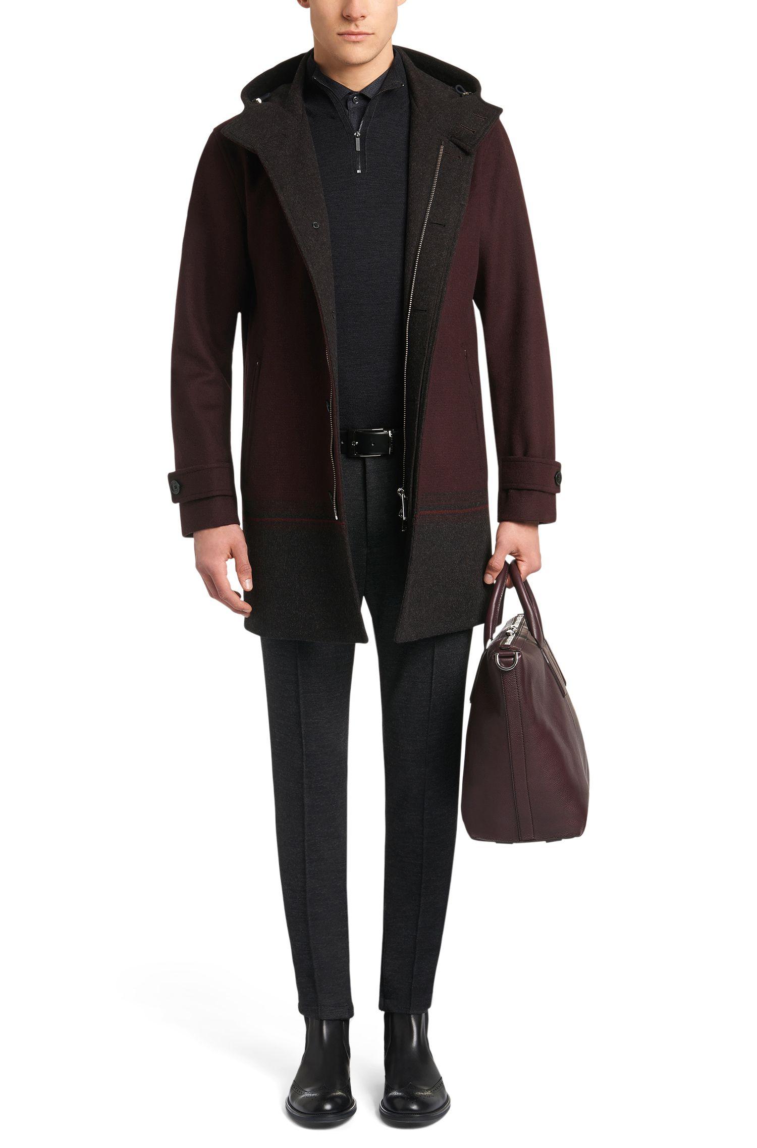 Slim-Fit Pullover im Troyer-Stil: 'Banello'