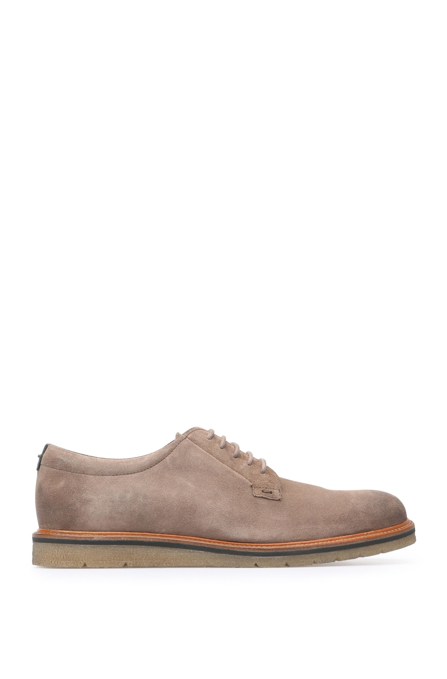 Lace-ups in suede: 'Tuned_Derb_sd'