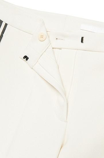Relaxed-Fit Hose mit Streifen-Details: 'Arilana', Gemustert