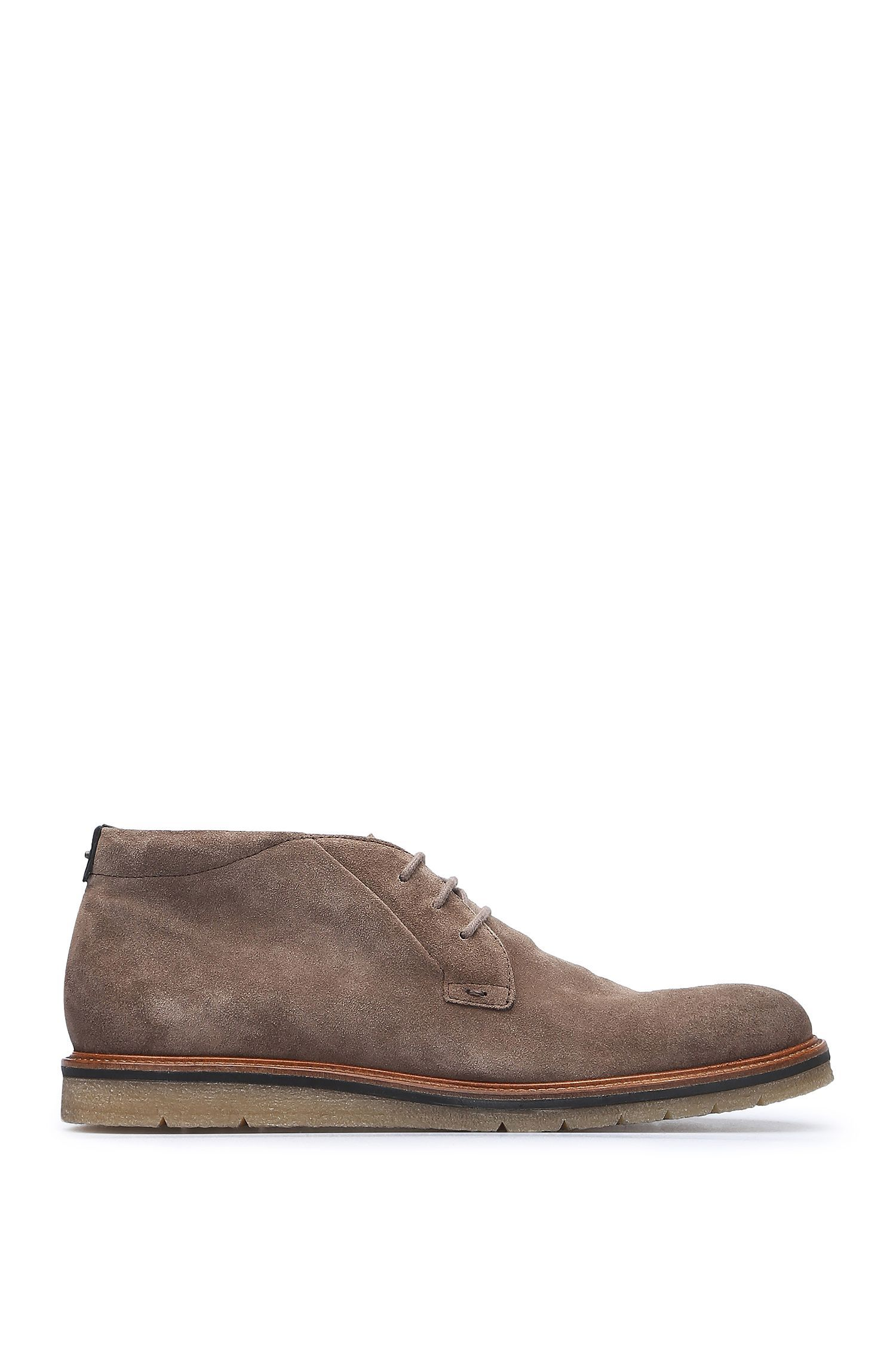Desert boots in vintage-style suede: 'Tuned_Desb_sd'
