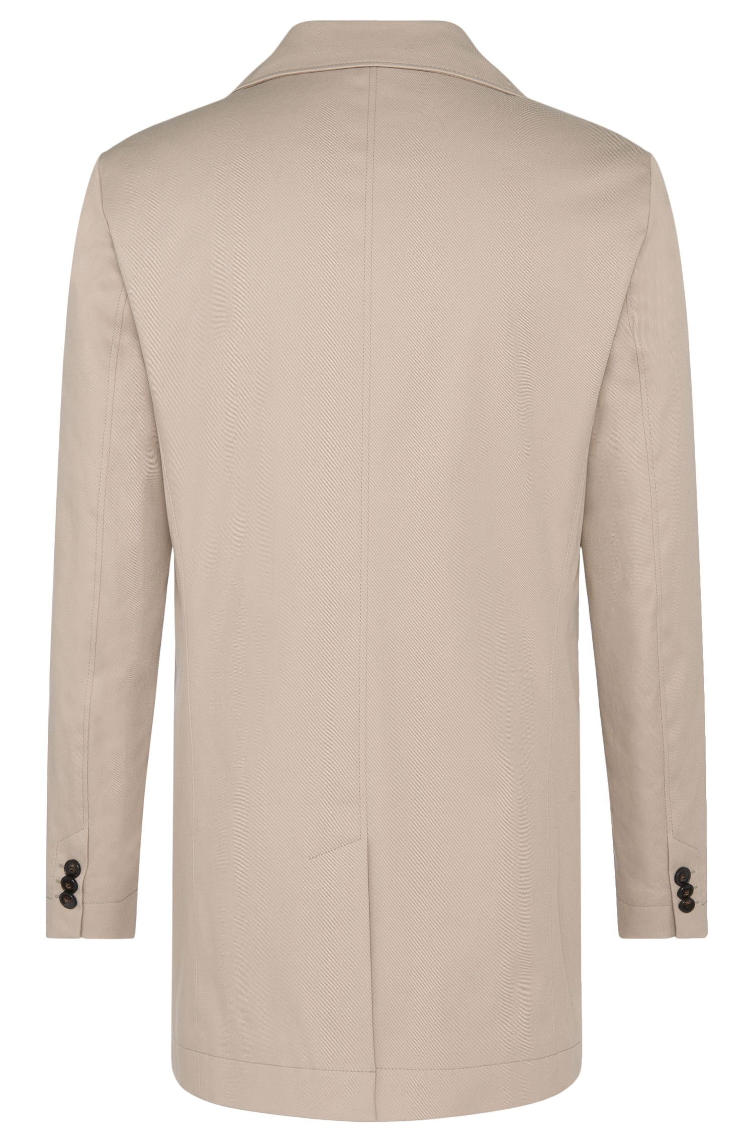 Manteau Regular Fit en coton stretch imperméable : « C-Dais4 »
