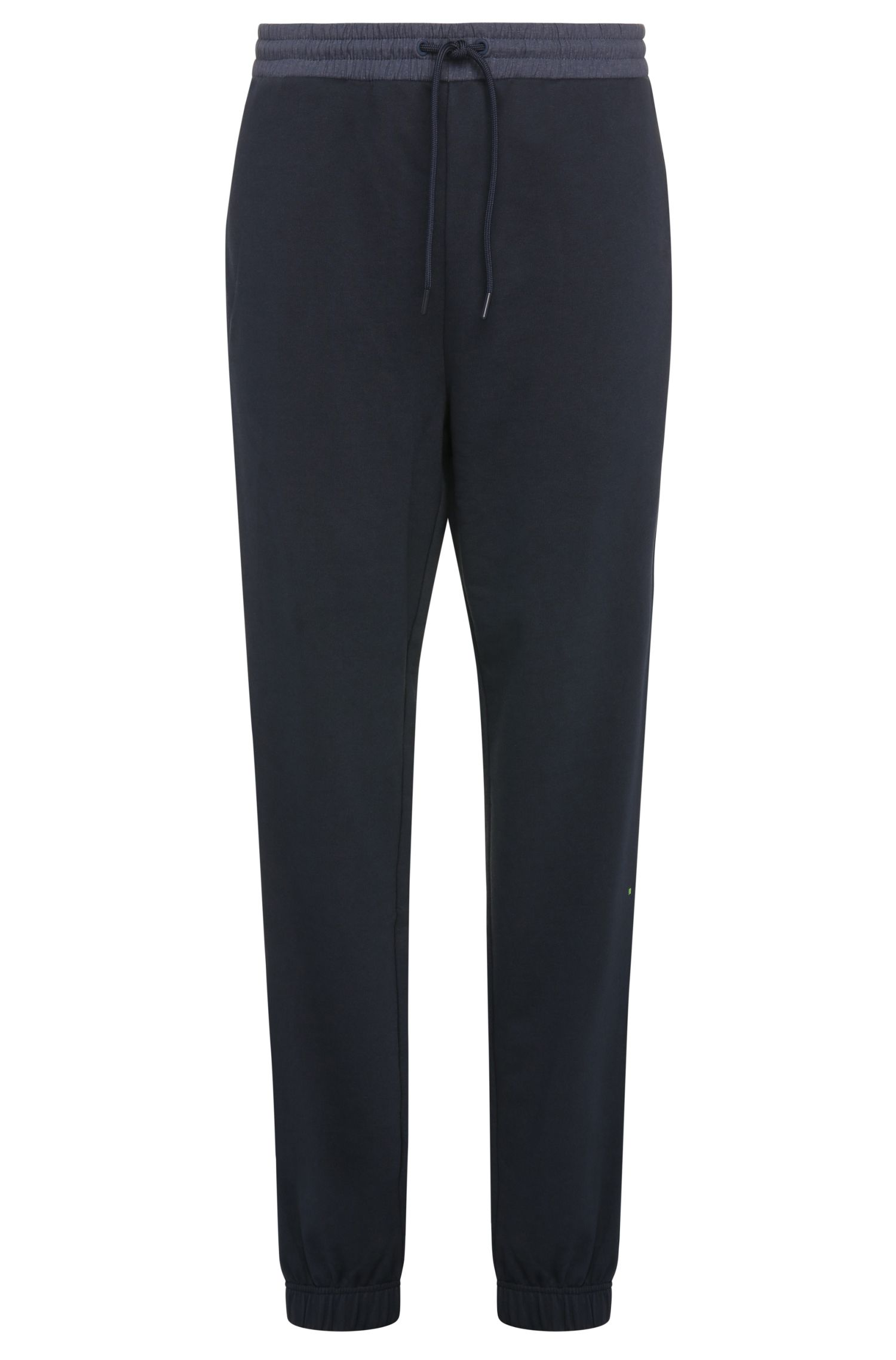 Tracksuit bottoms in cotton with contrasting trim: 'Hivon'