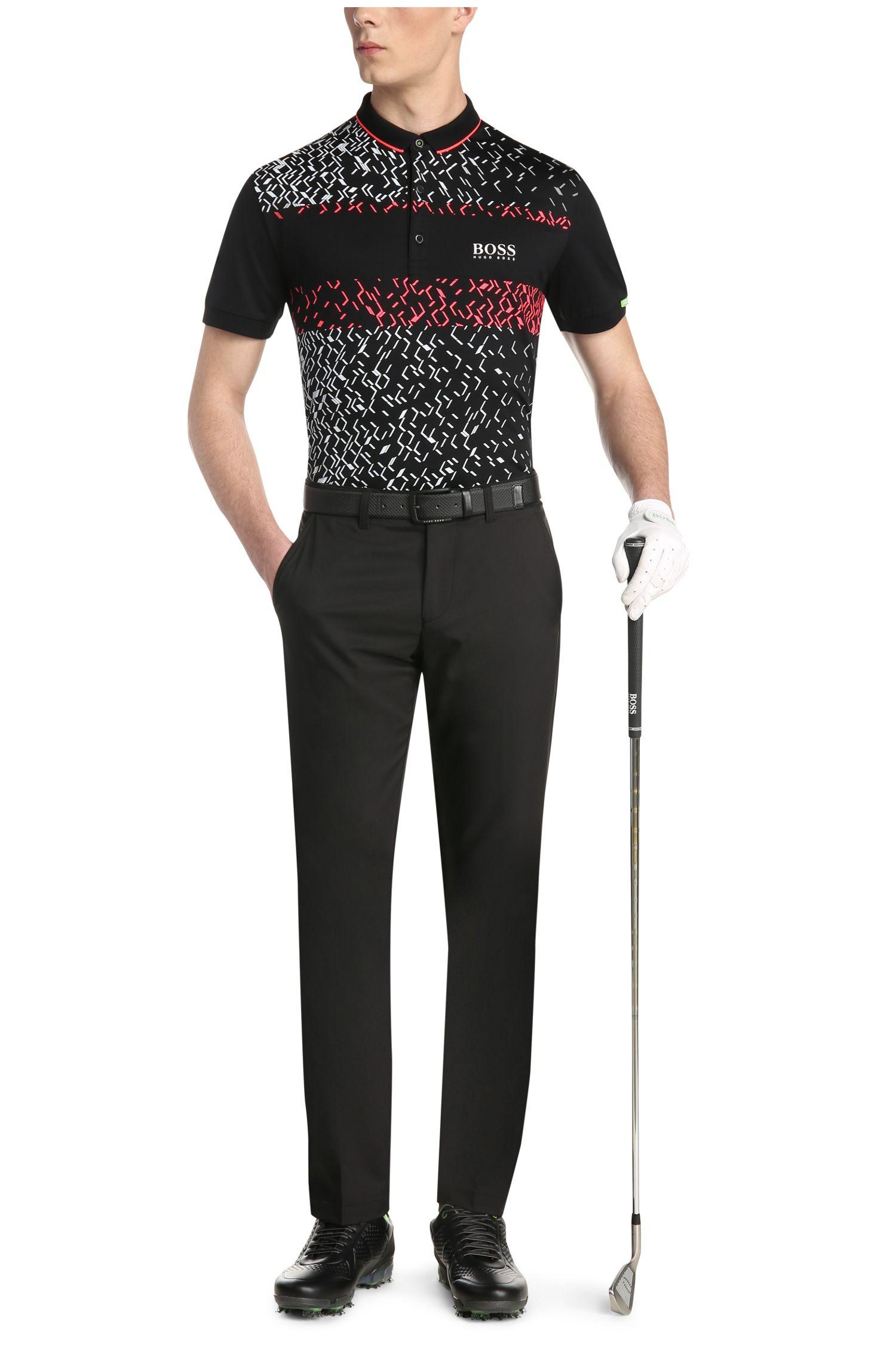 Golfpolo van elastische katoen: 'Paddy MK 3'