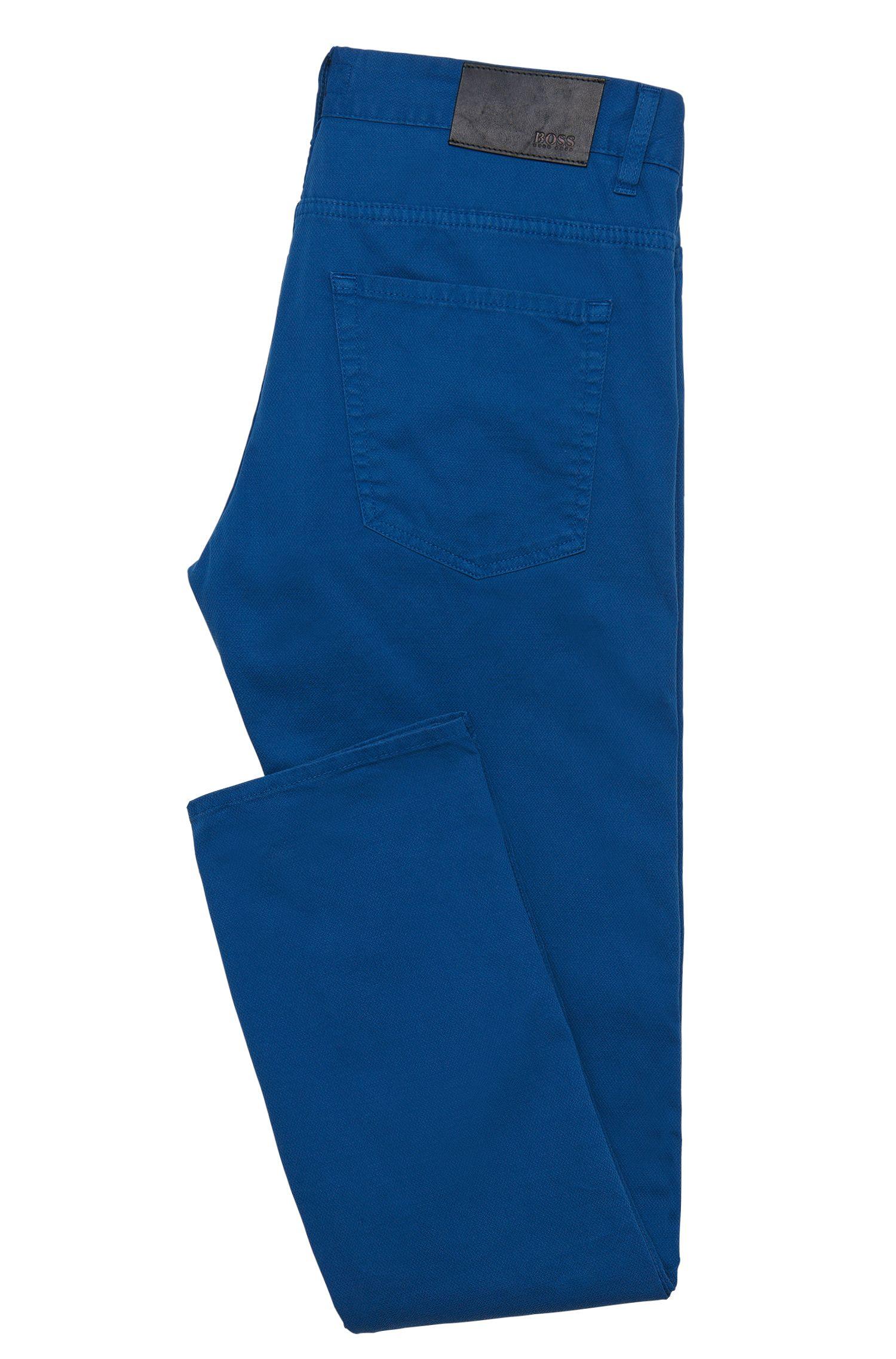 Slim-Fit Jeans aus strukturierter Stretch-Baumwolle: 'Delaware4-20'