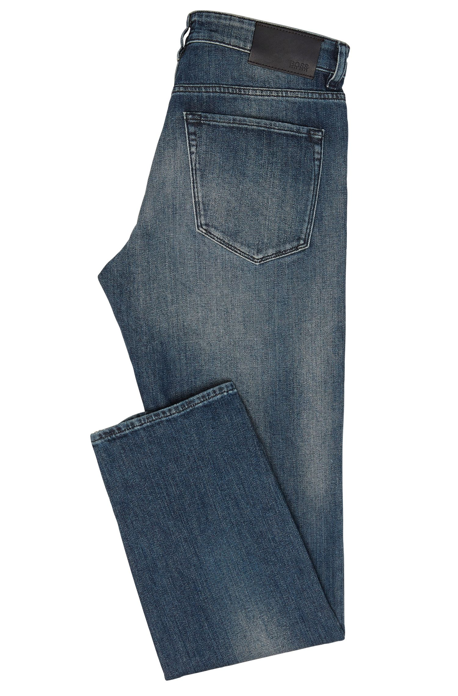 Regular-Fit Jeans aus Stretch-Baumwolle: 'Maine3'