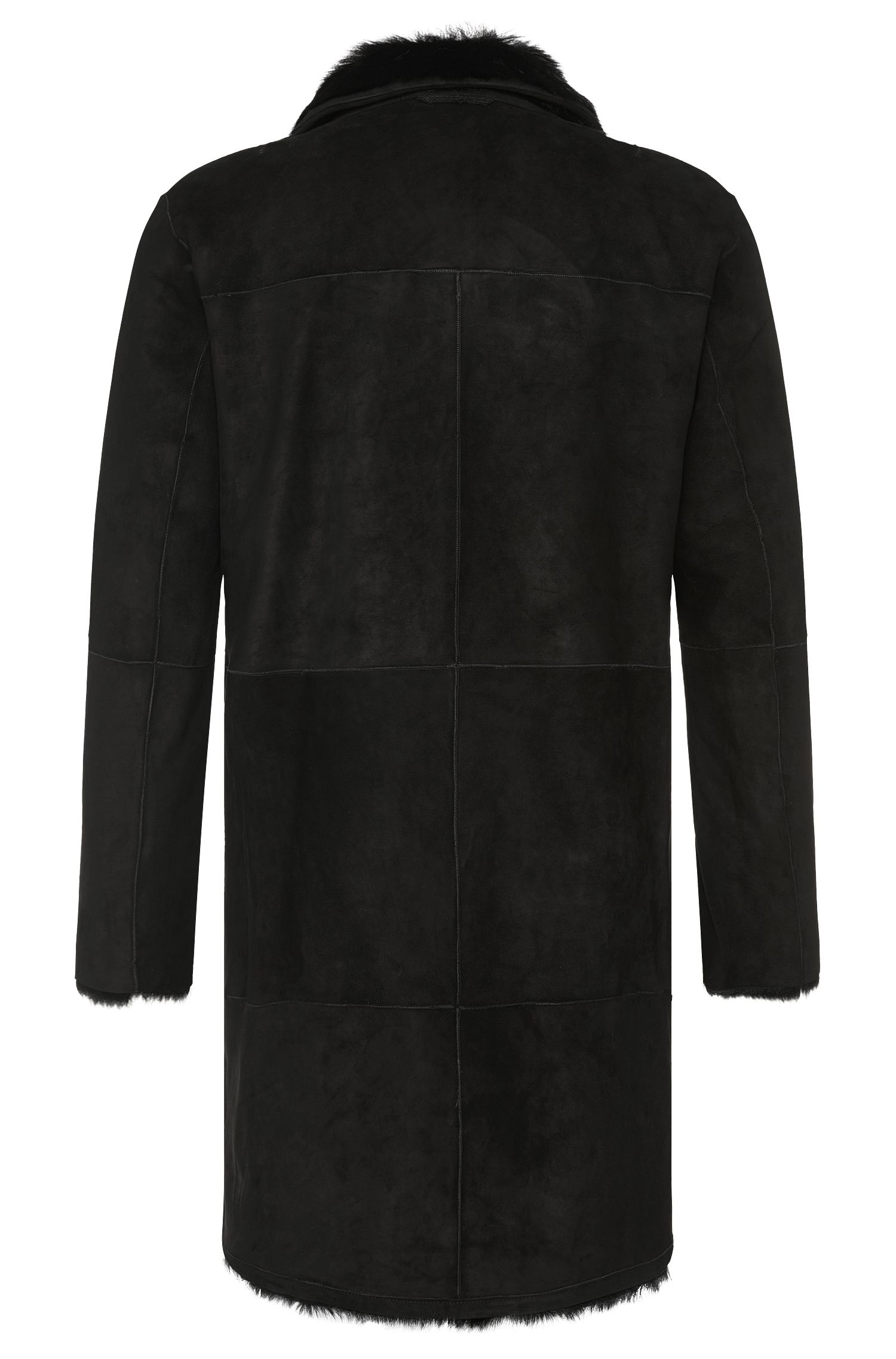 Manteau en peau retournée Regular Fit à fonction réversible: «Ludon»