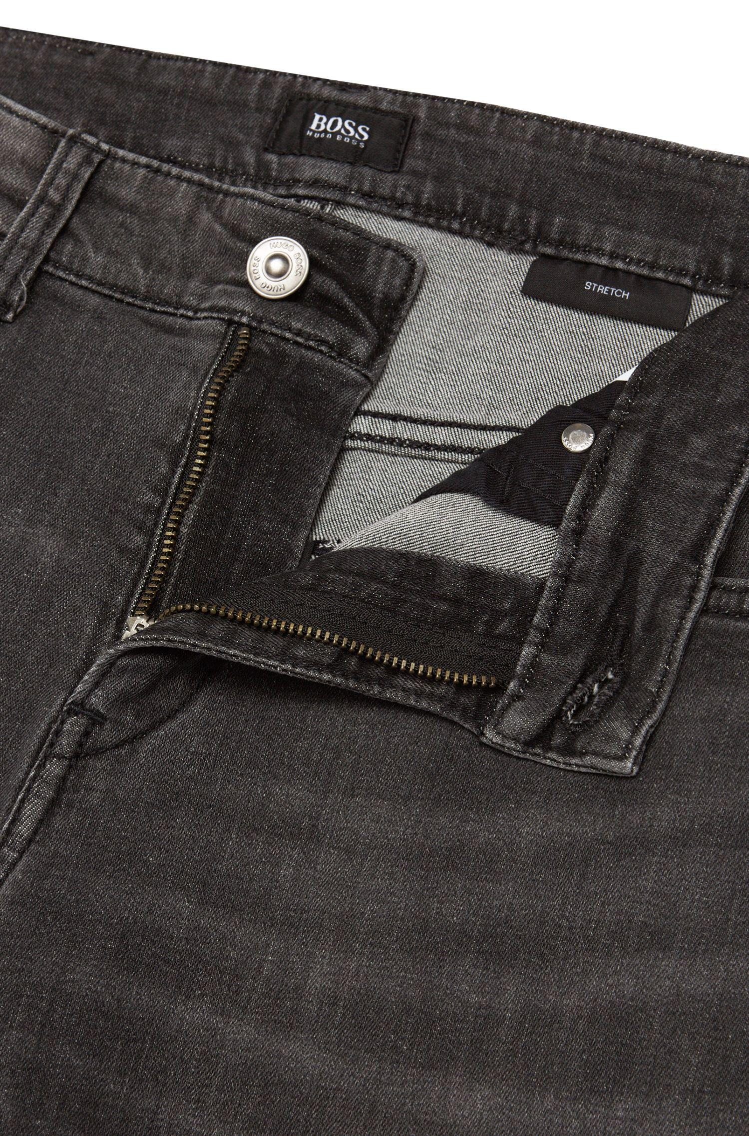 Jeans Slim Fit en coton stretch: «Delaware3-1»