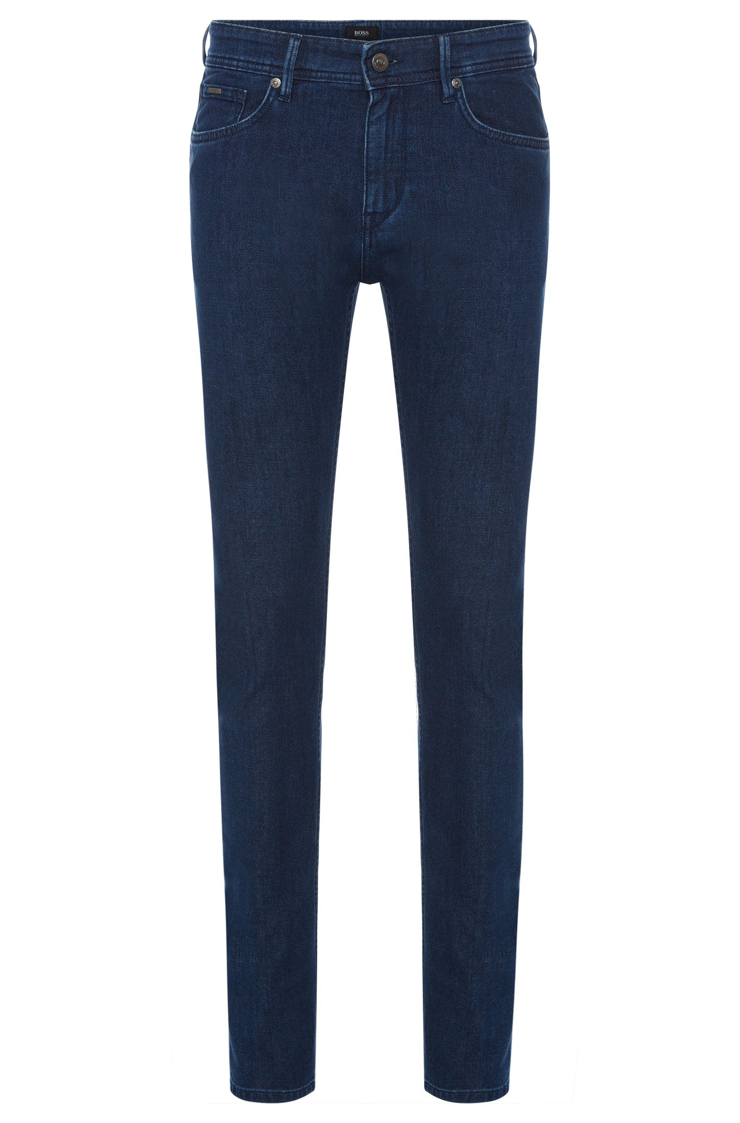 Slim-Fit Jeans aus Stretch-Baumwolle in Rinsed-Optik: 'Charleston3'