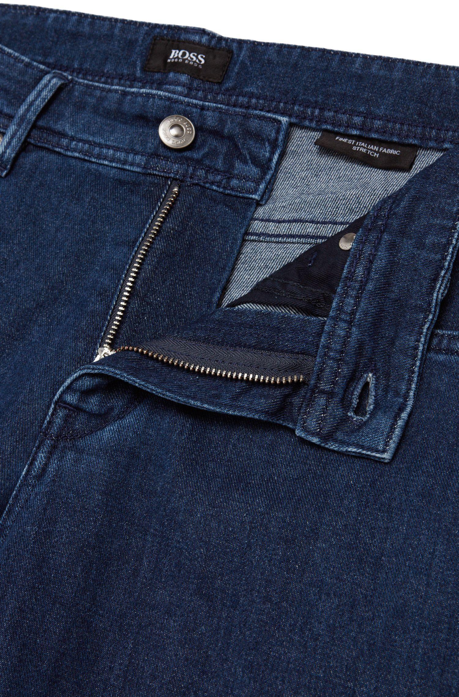Slim-Fit Jeans aus Stretch-Baumwolle in Rinsed-Optik: 'Charleston3'
