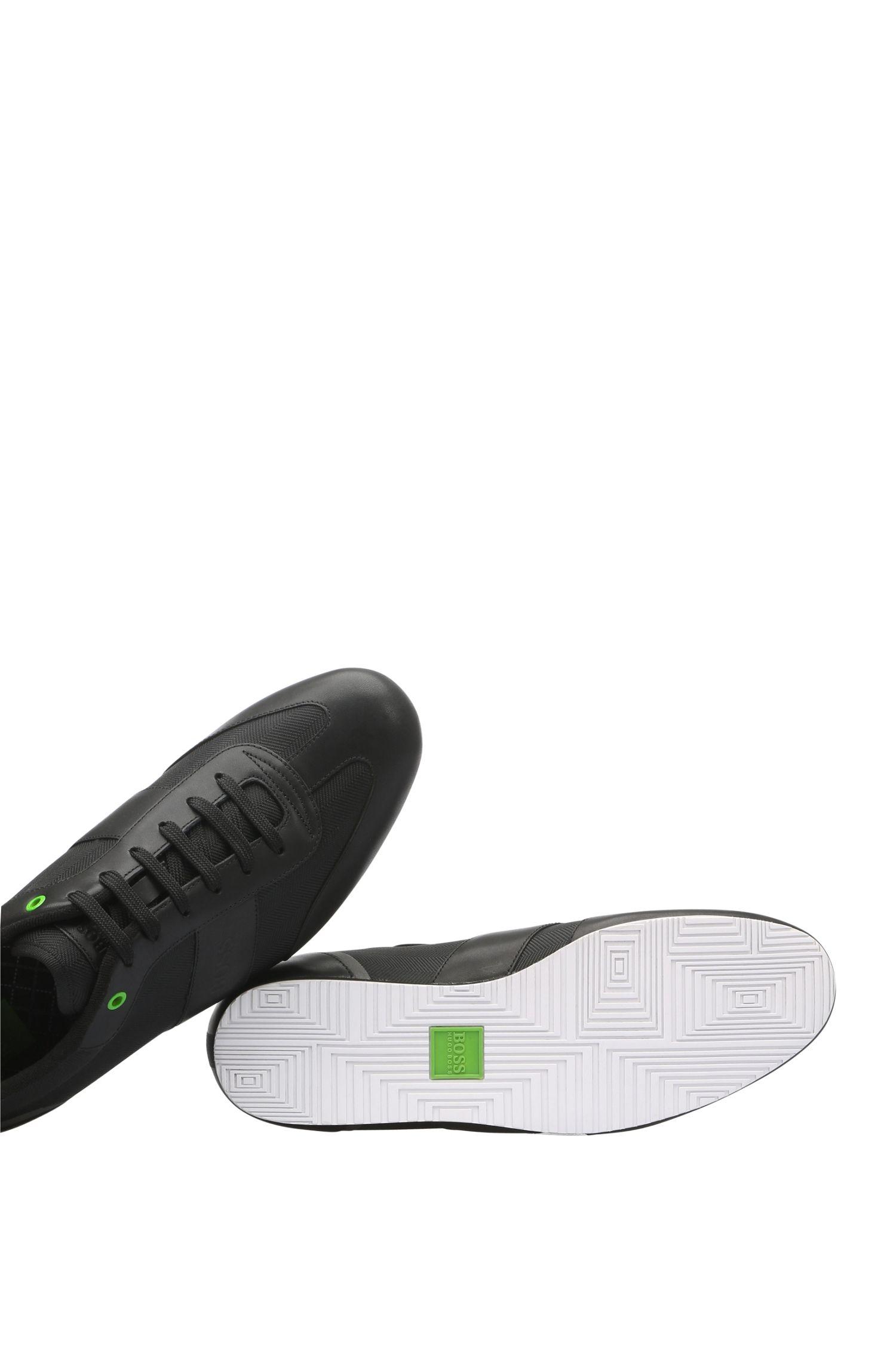 Sneakers van textiel met dessin en leer: 'Lighter_Lowp_nyhr'