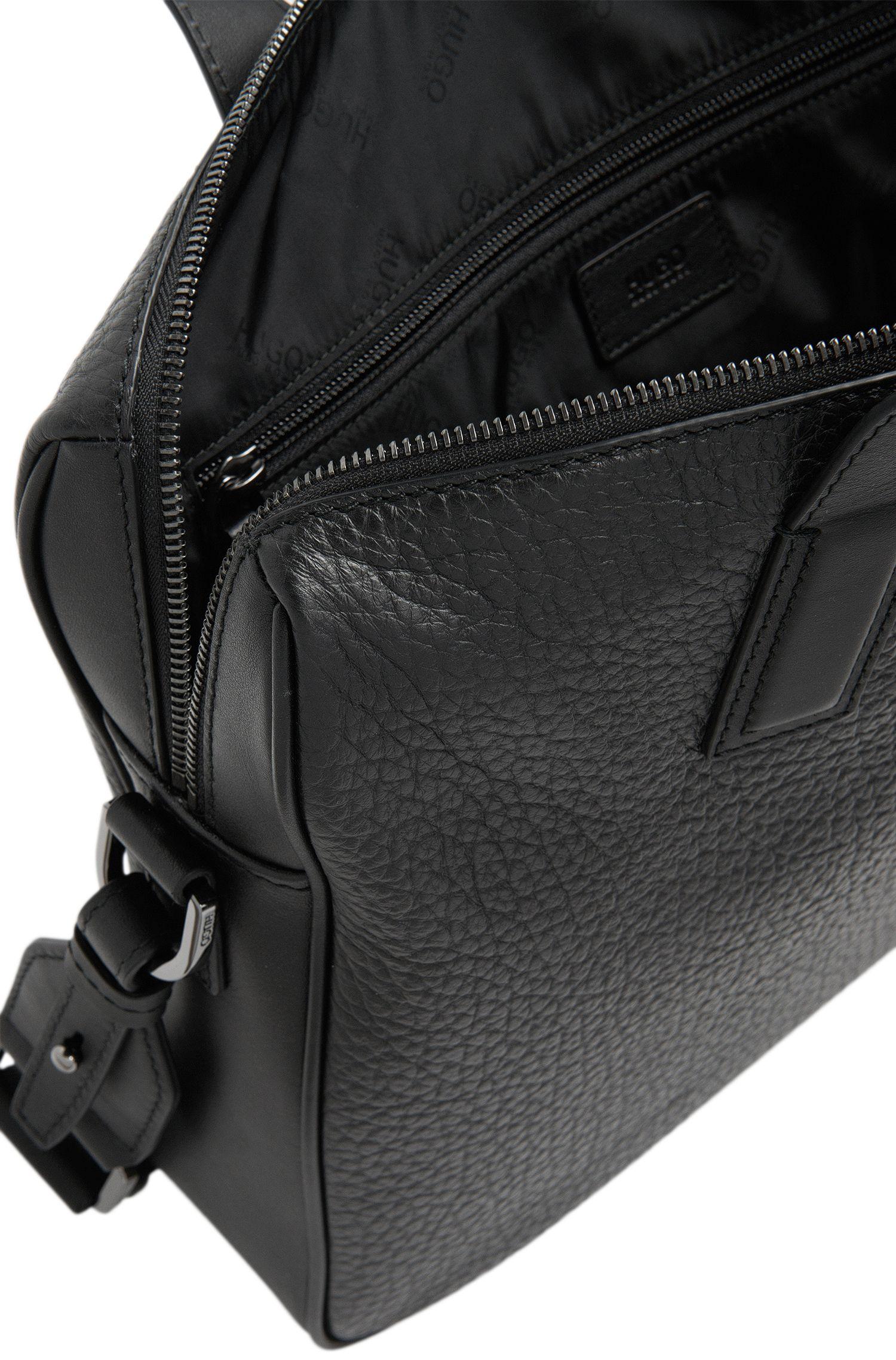 Workbag aus Leder mit Umhängeriemen: 'Neoclassic_S doc'