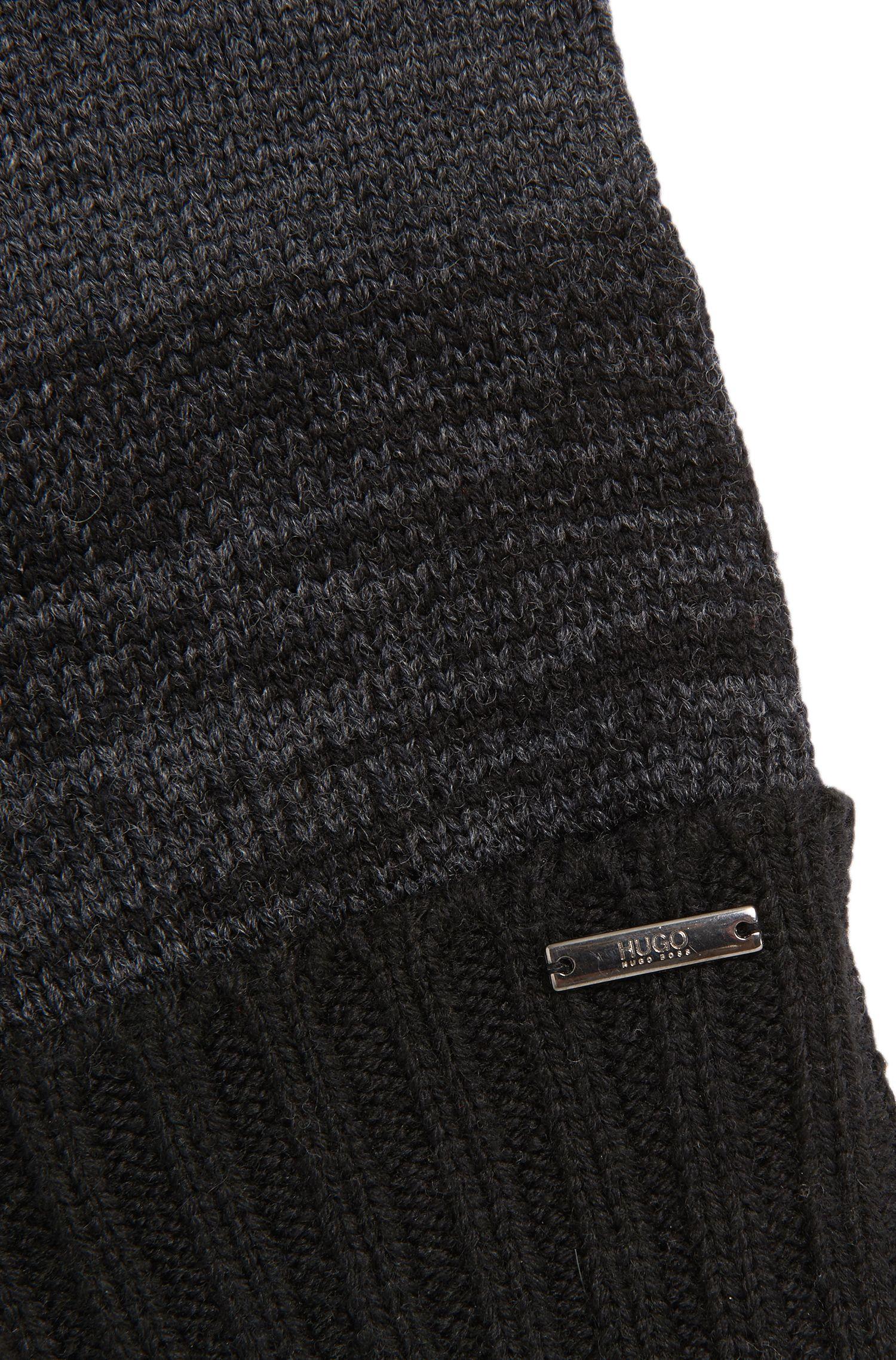 Gants en laine vierge avec fonction écran tactile: «Men-w32»