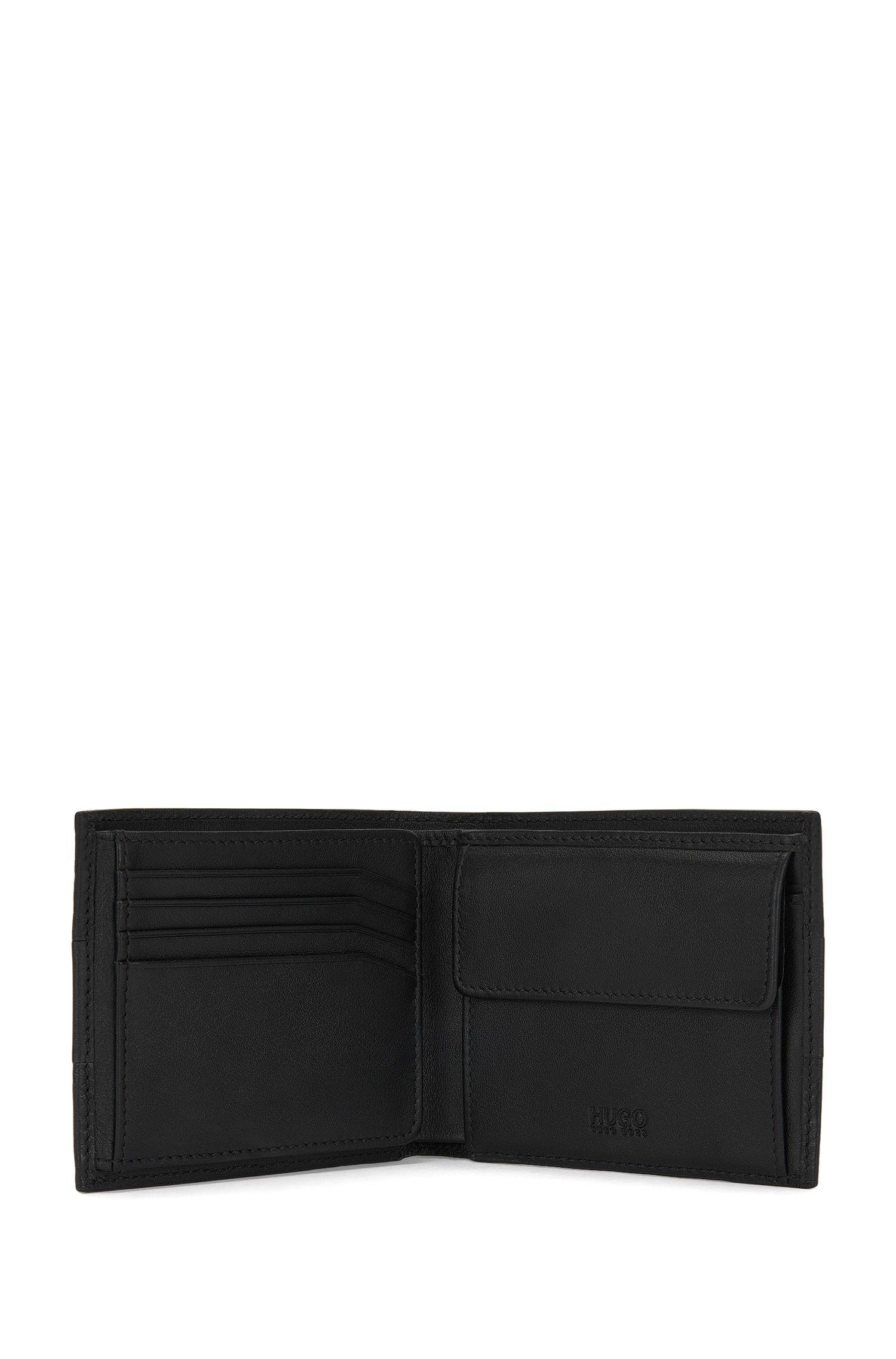 Geldbörse aus Leder im Struktur-Mix: 'Neoclassic_Trifold'