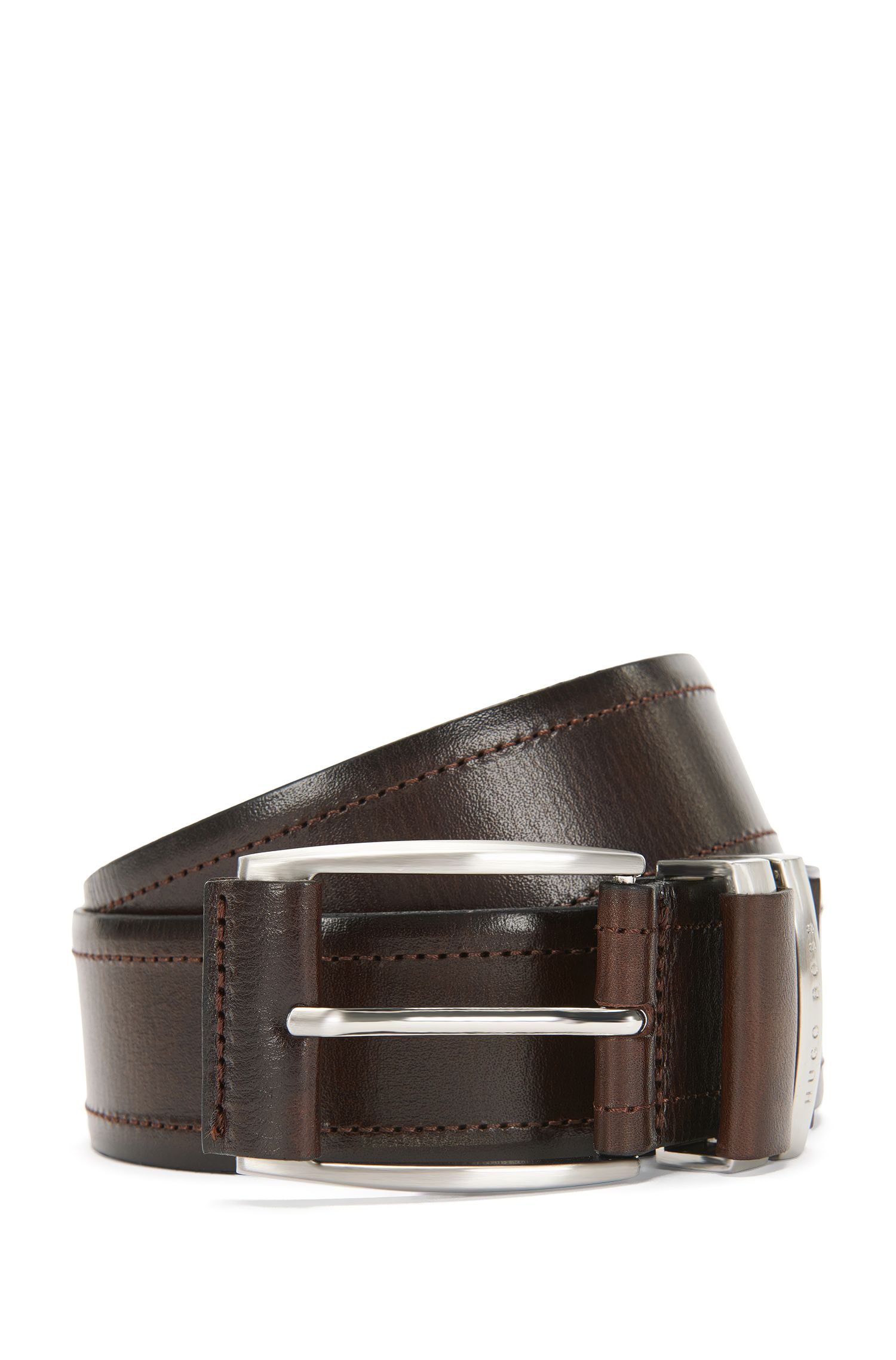 Cintura in pelle stampata: 'Sem_Sz40_ltpl'