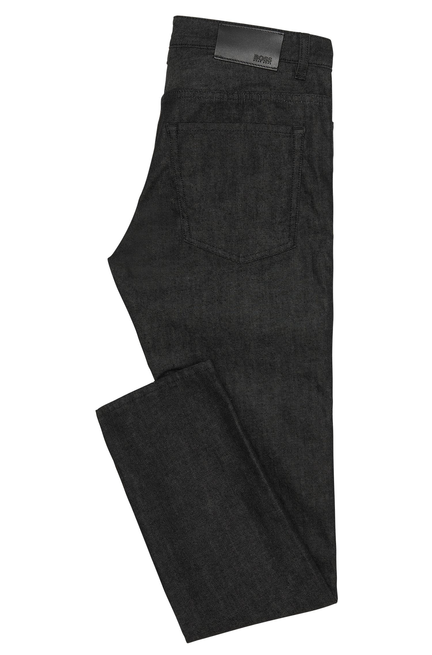 Jeans Slim Fit en coton stretch à la finition rinsed : « Delaware3 »