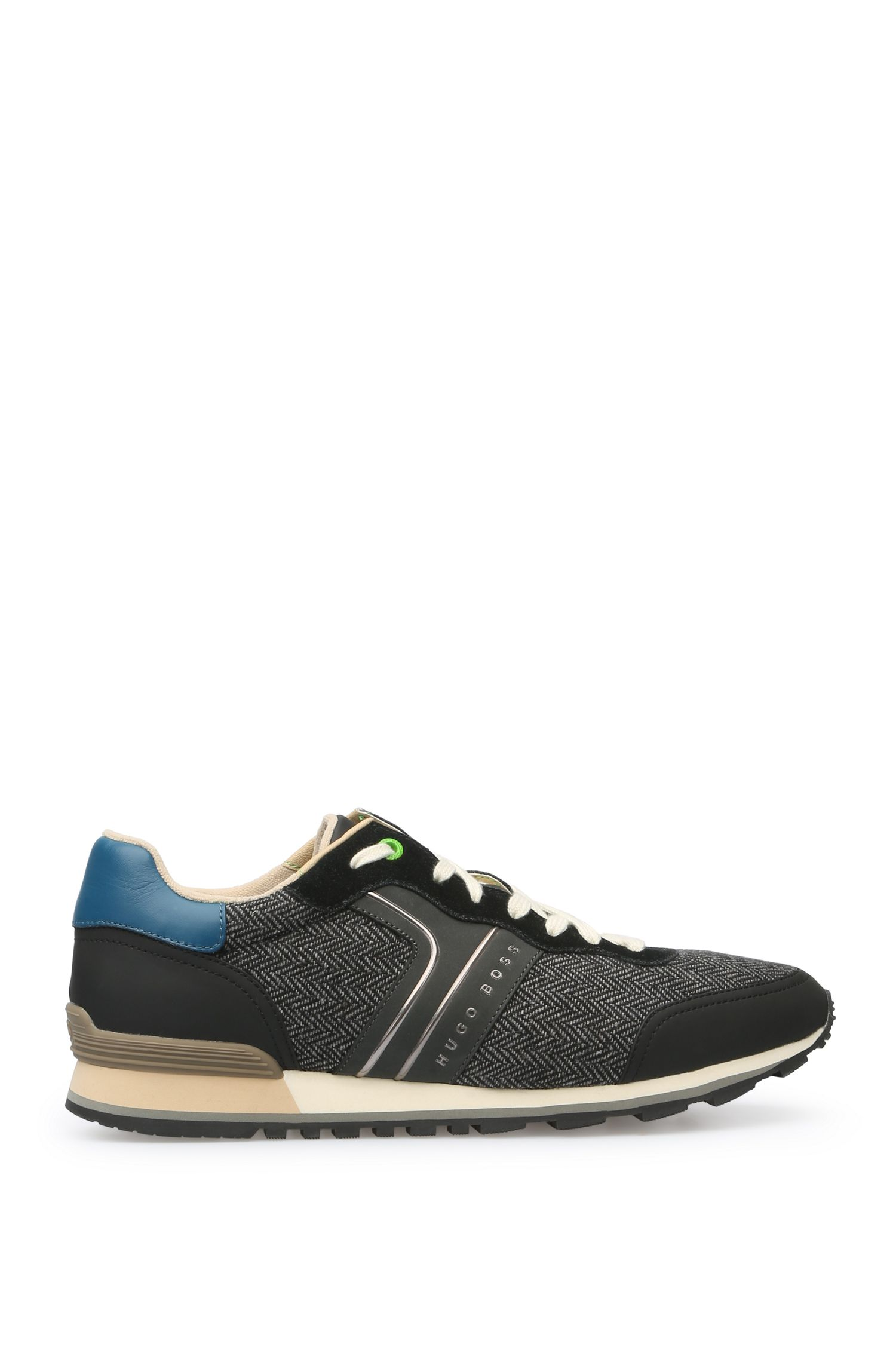 Trainers in fabric blend: 'Parkour_Runn_cohr'