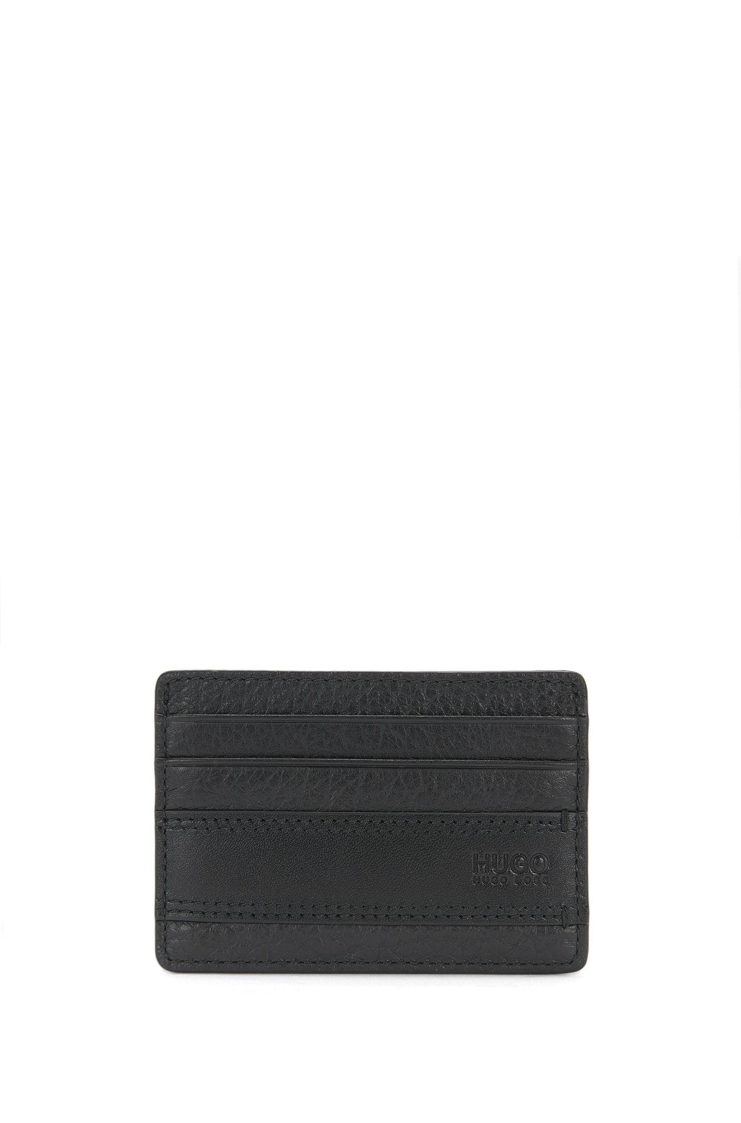 Kartenetui aus Leder mit Logo-Prägung: 'Neoclassic_S card'
