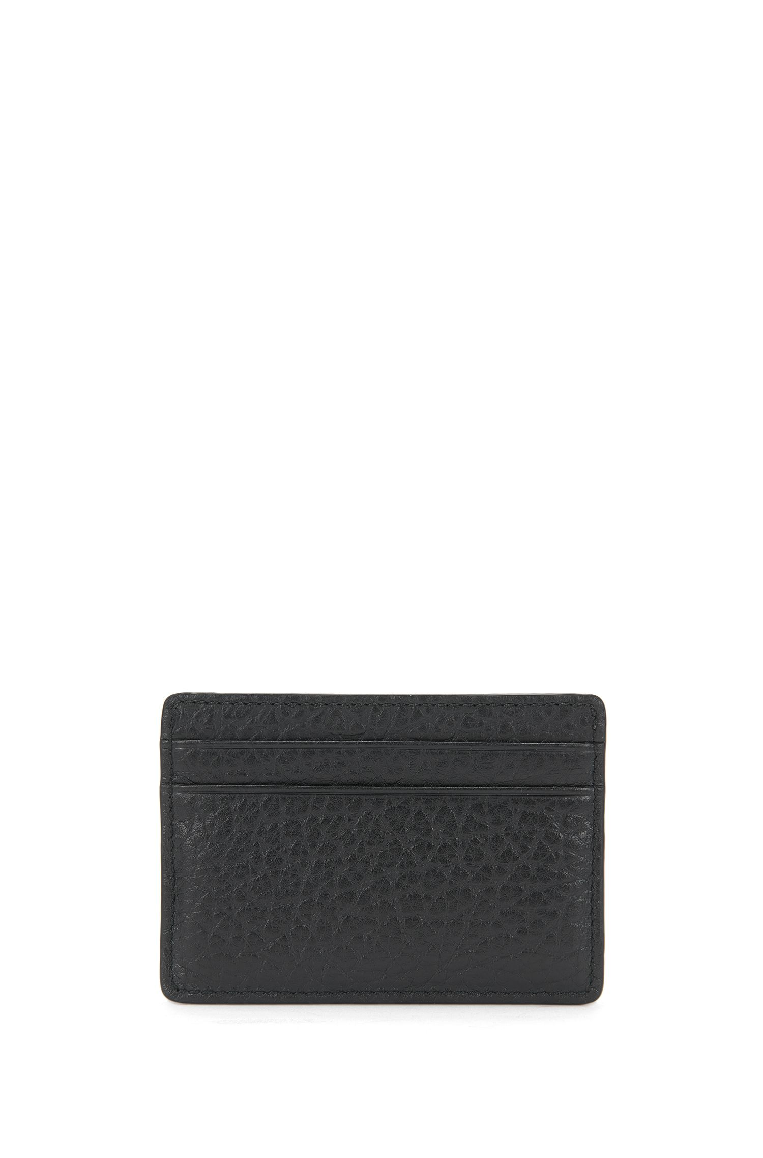 Leather card case with embossed logo: 'Neoclassic_S card'