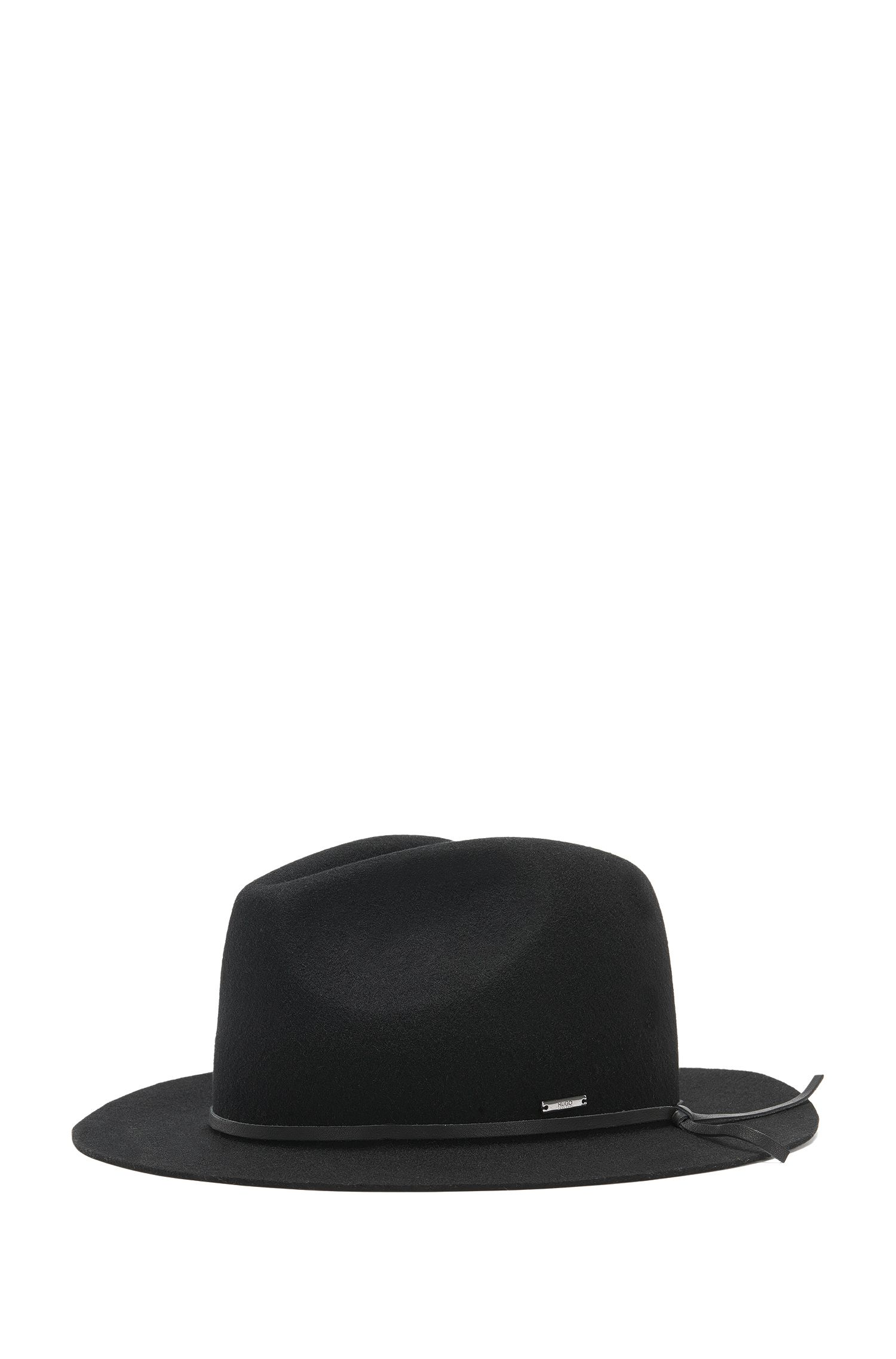 Cappello Fedora in lana vergine: 'Men-x-531'