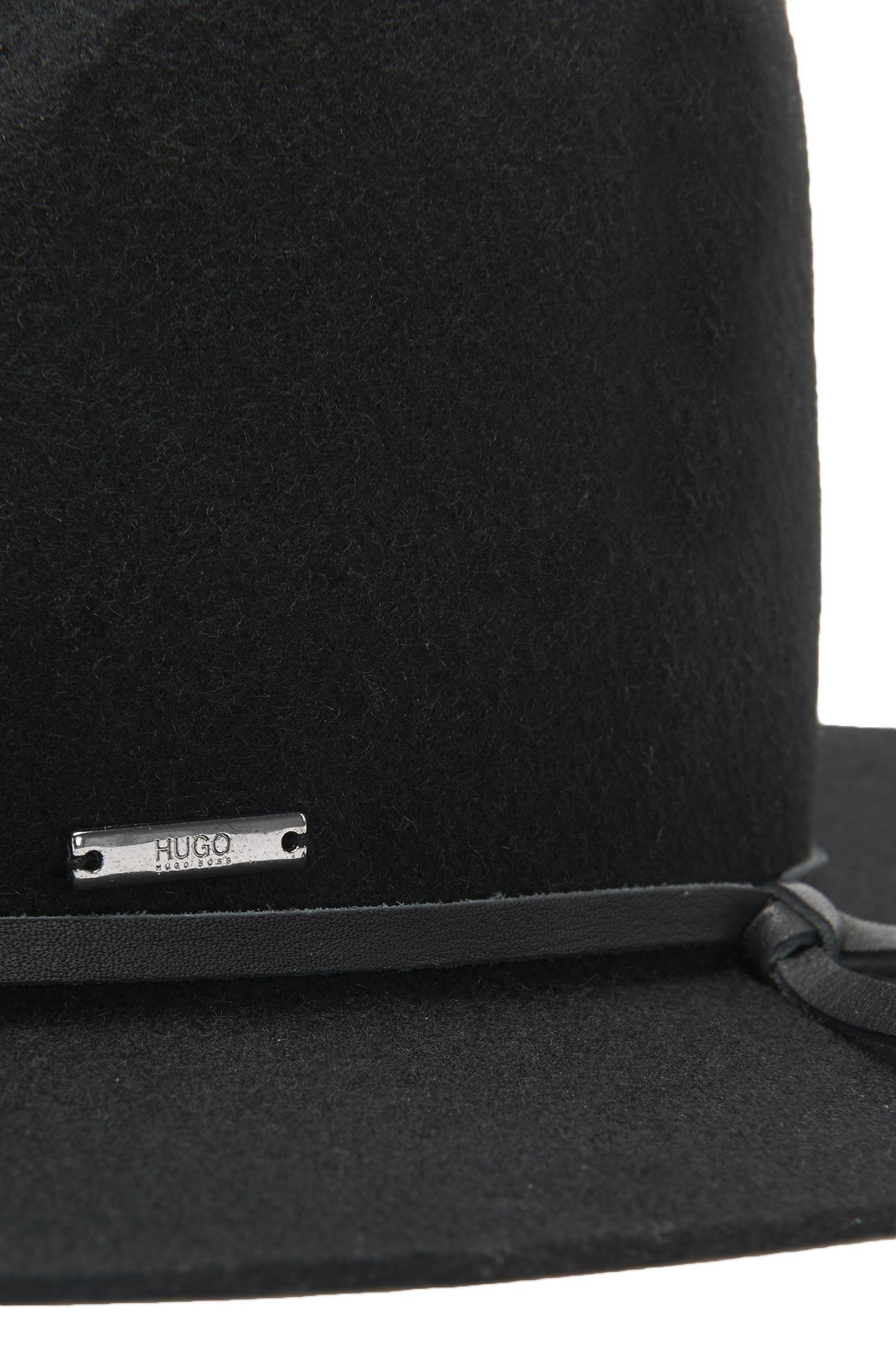 Fedorahoed van scheerwol: 'Men-x-531'