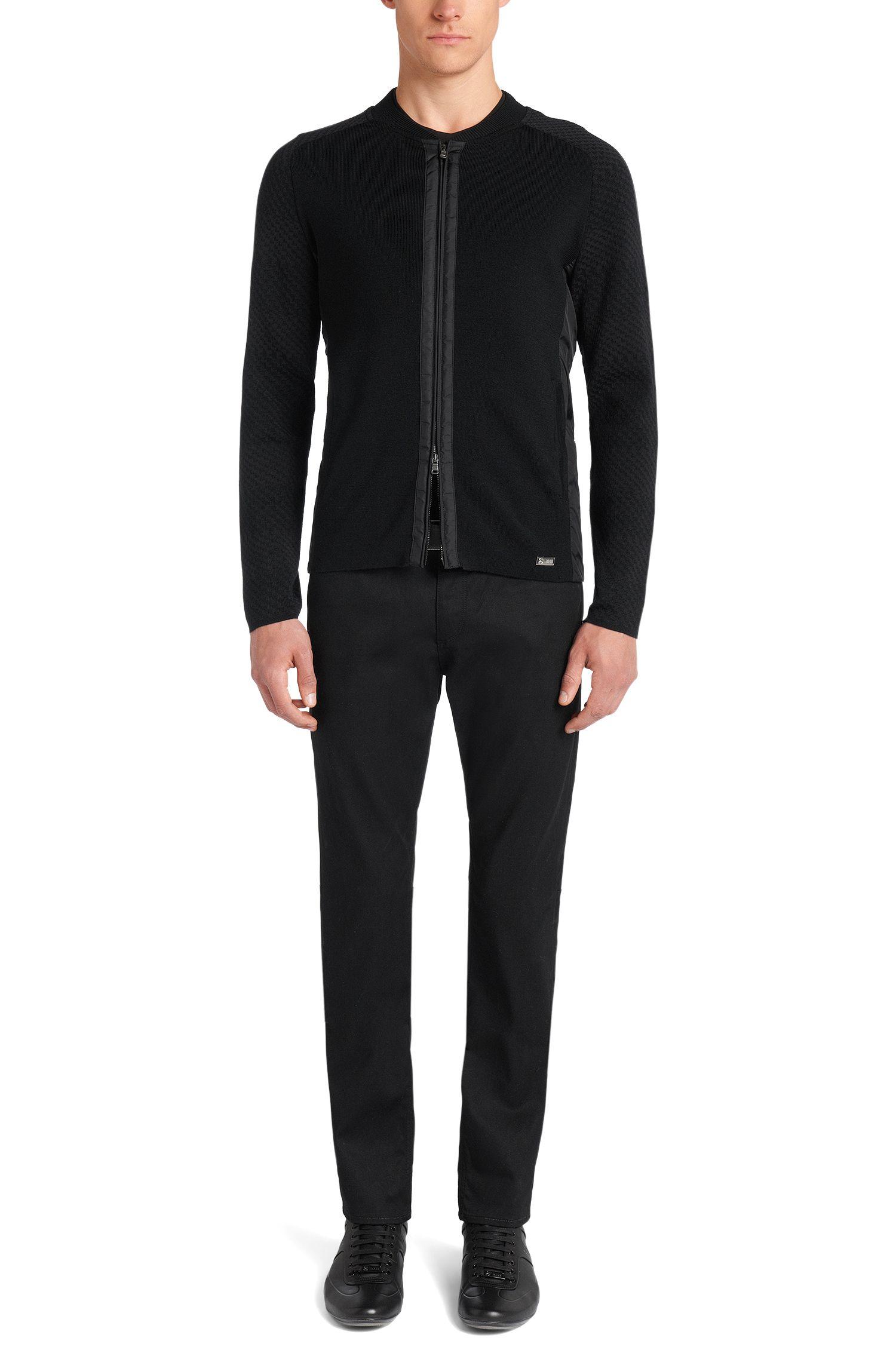 Veste en maille Regular Fit en laine vierge: «Belotti» de la collection Mercedes Benz