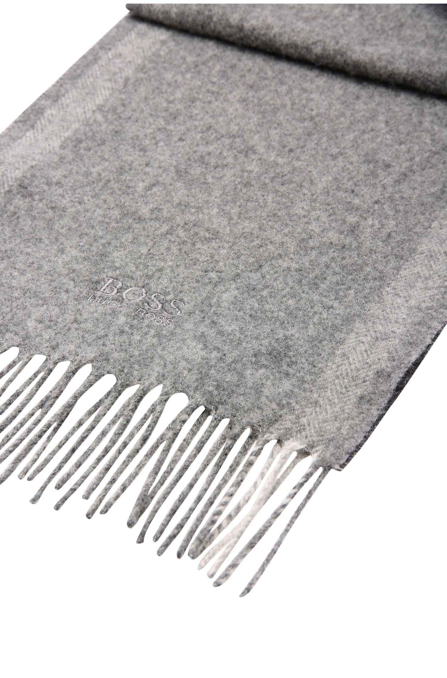 Écharpe en laine mélangée, avec du cachemire: «C-Albarello 3»