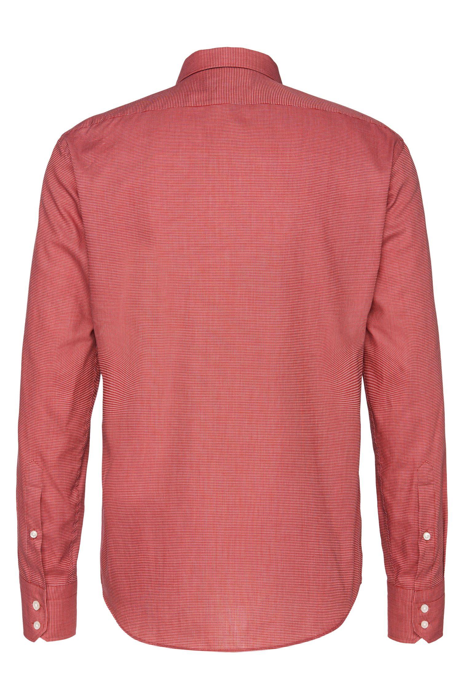 Chemise Regular Fit en coton à motif: «Enzo»