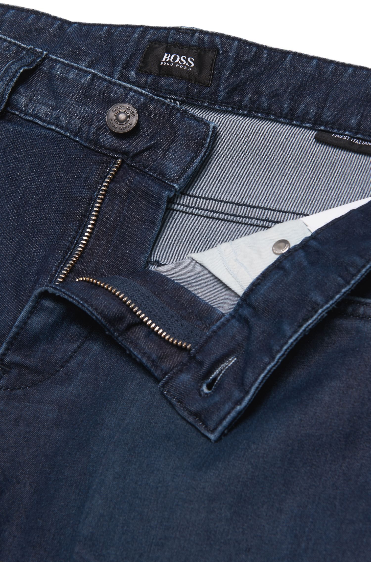 Slim-Fit Jeans aus Baumwoll-Mix: 'Delaware3'