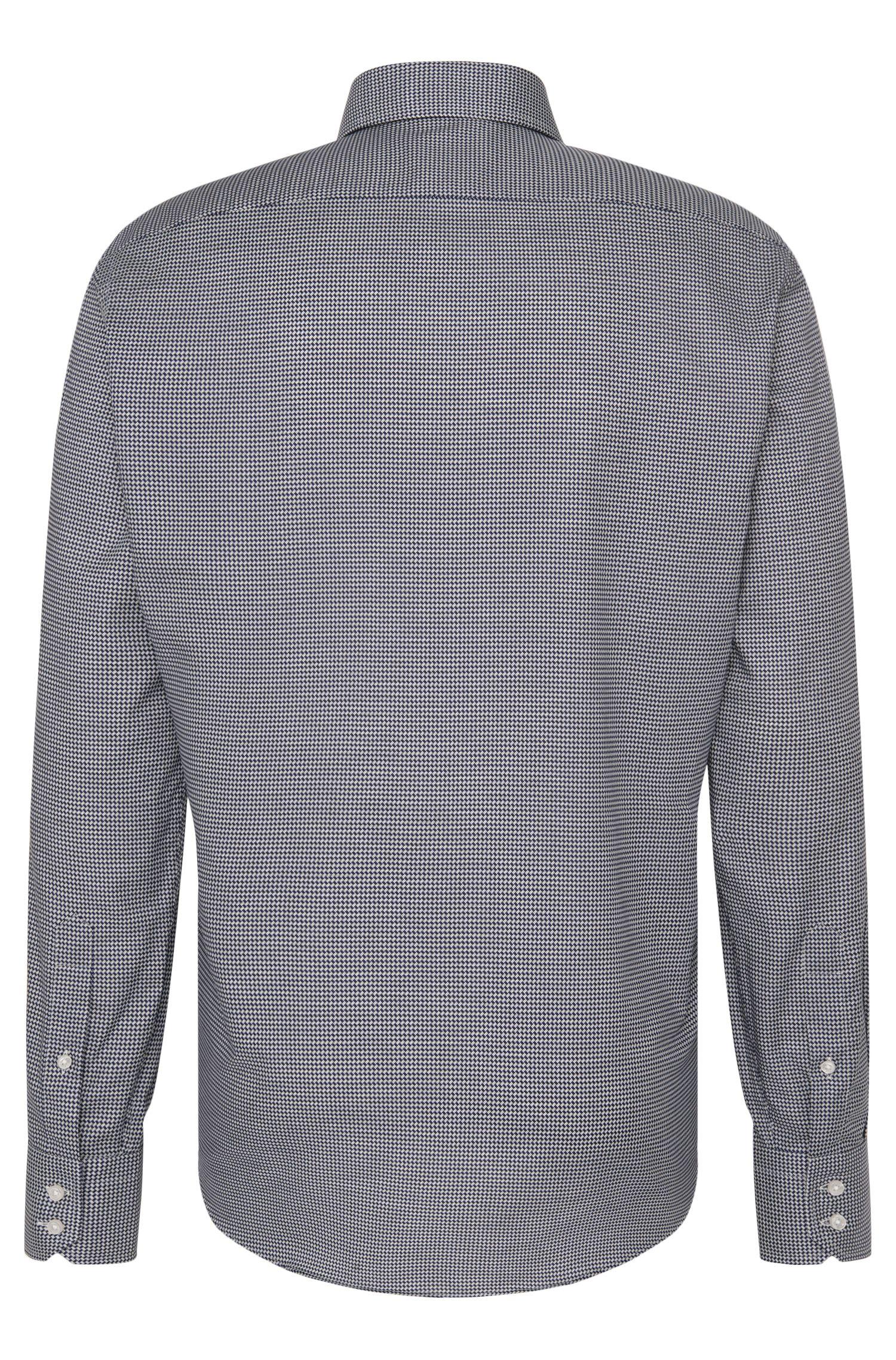 Chemise Regular Fit en coton à motif: «Gordon»