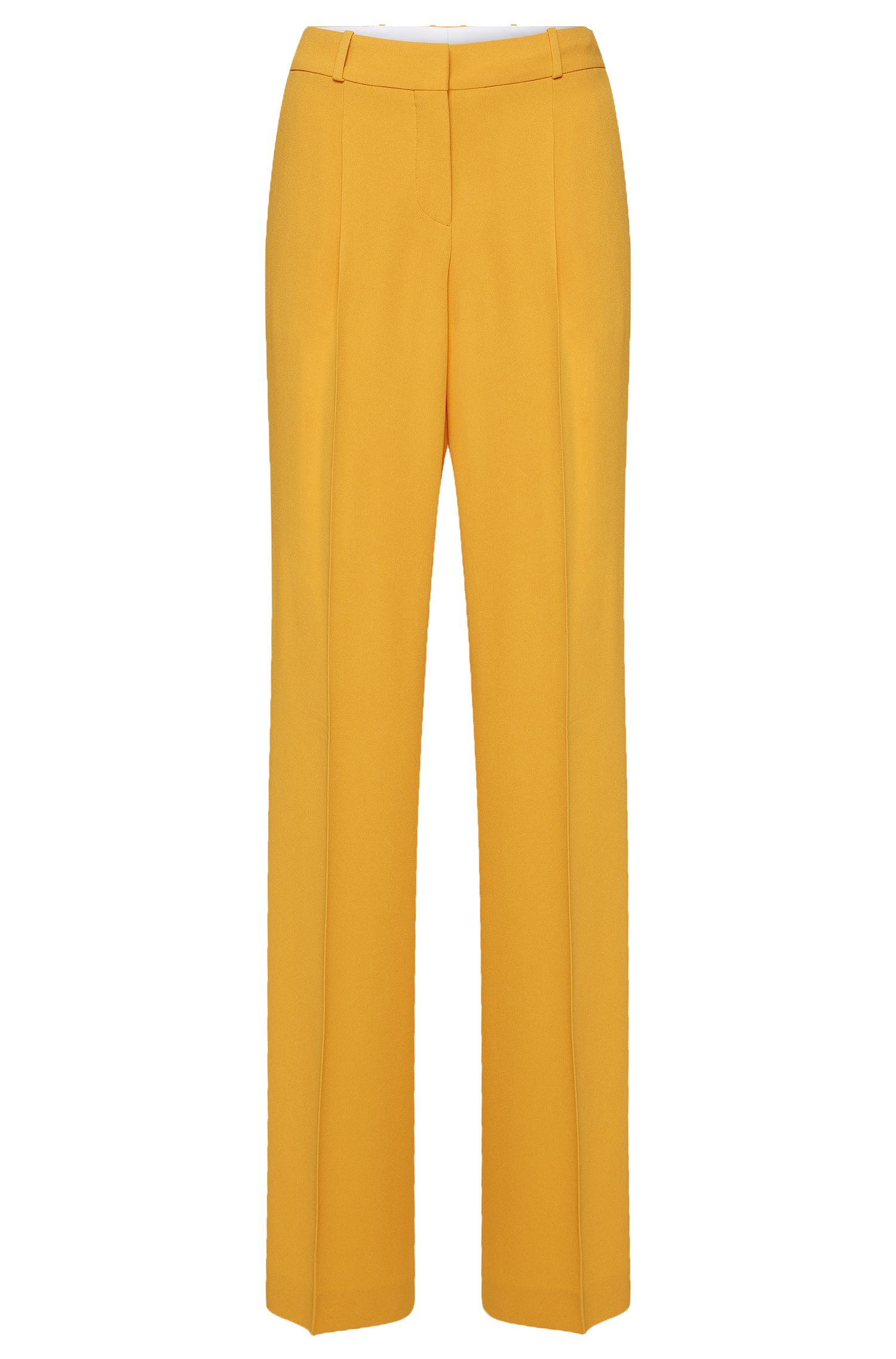 Relaxed-fit trousers with waist pleats: 'Tewena'