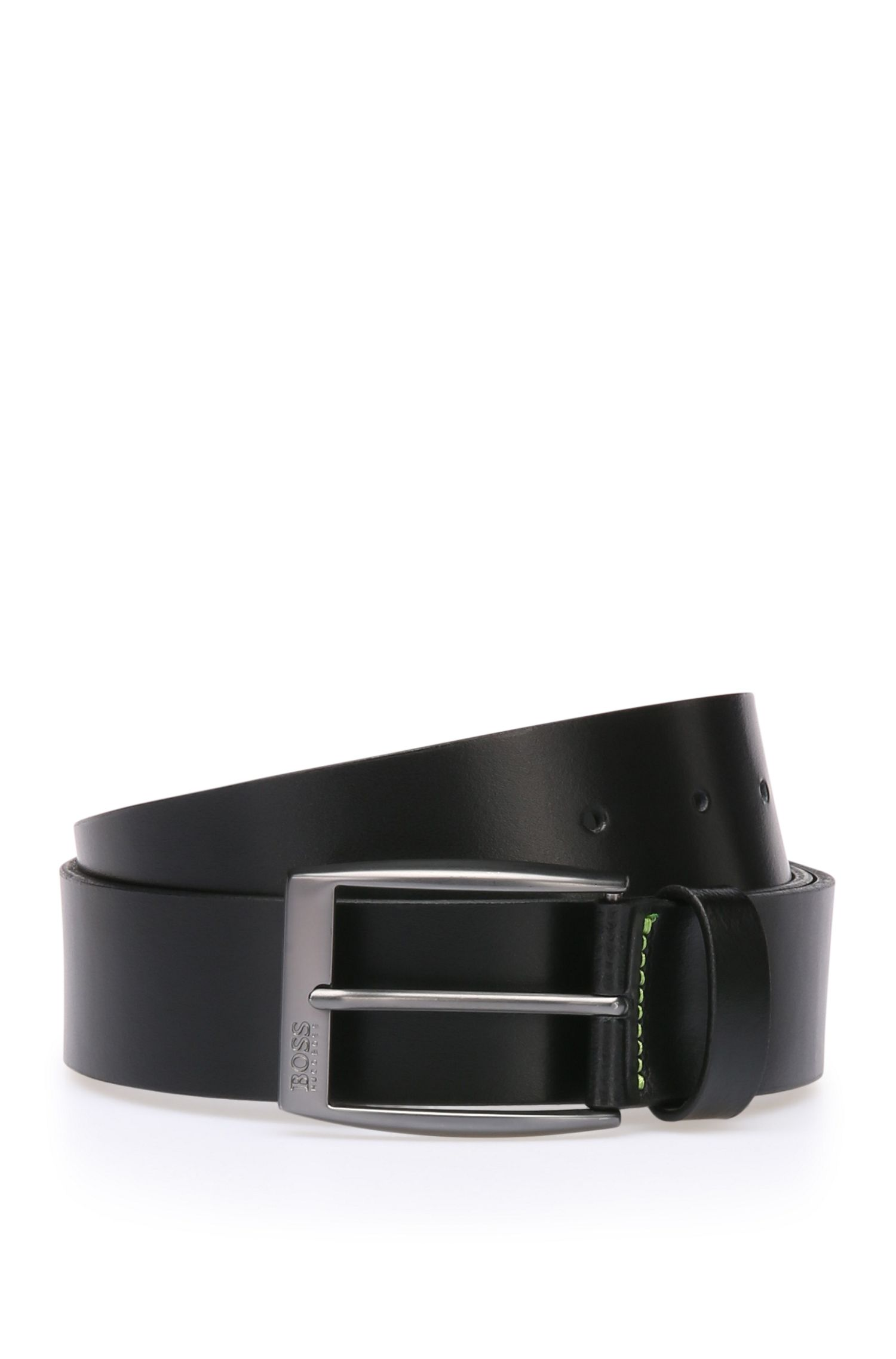 Belt in smooth Italian leather: 'Tebe_Sz40_ltpl'