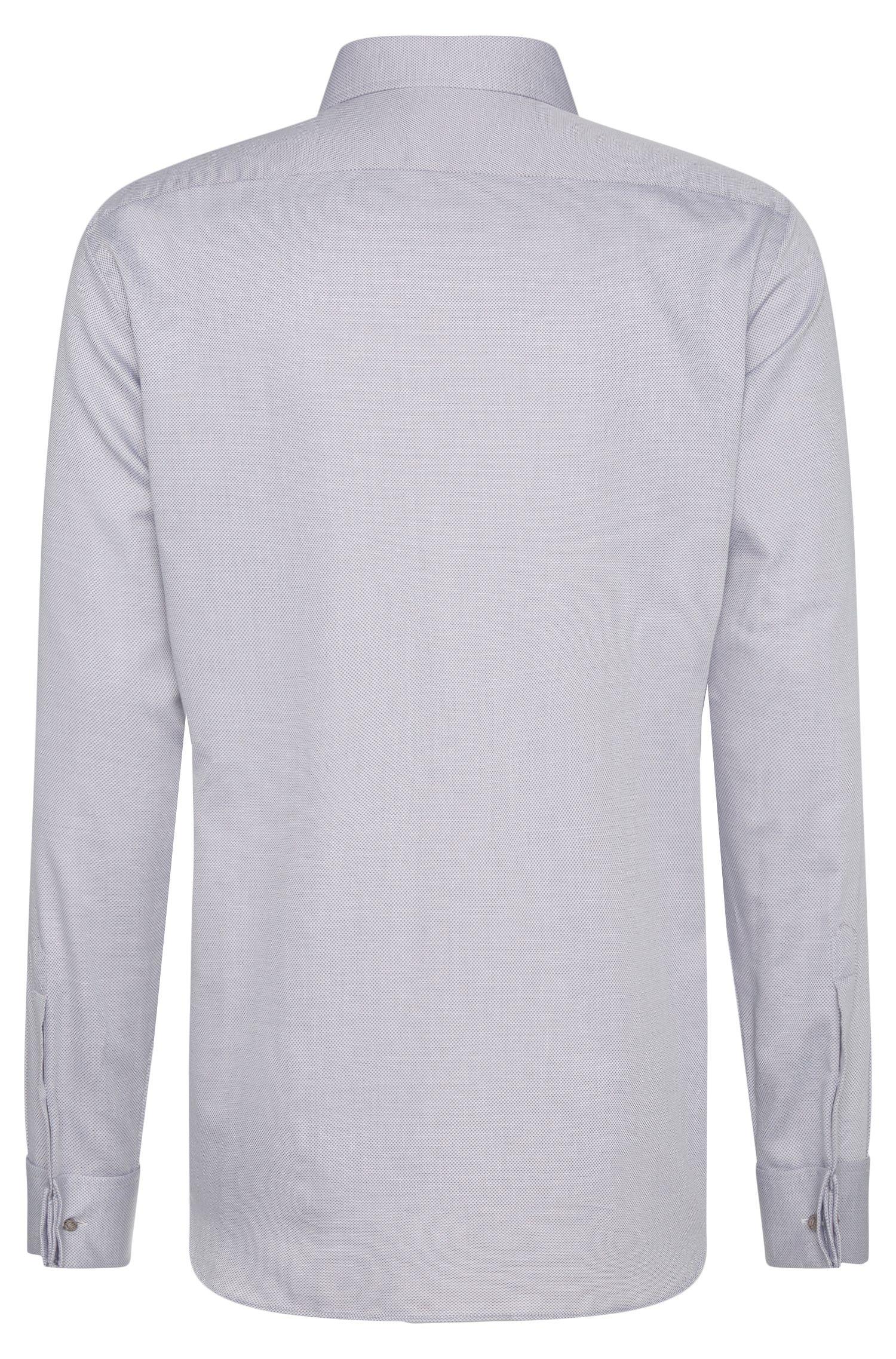 Regular-Fit Tailored Hemd aus Baumwolle mit Umschlagmanschetten: 'T-Stan'