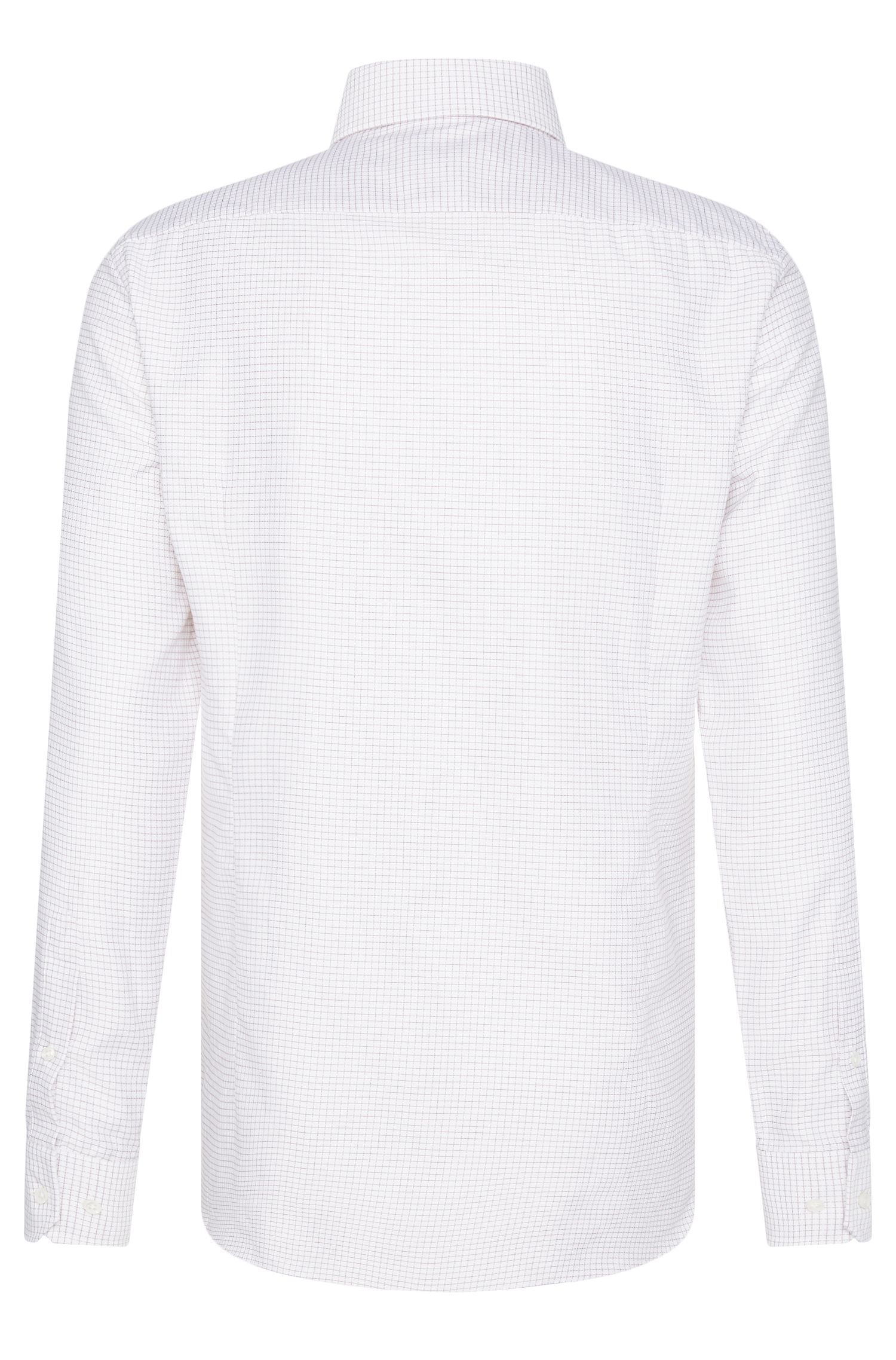 Chemise à carreaux Slim Fit Tailored en coton : « T-Christo »