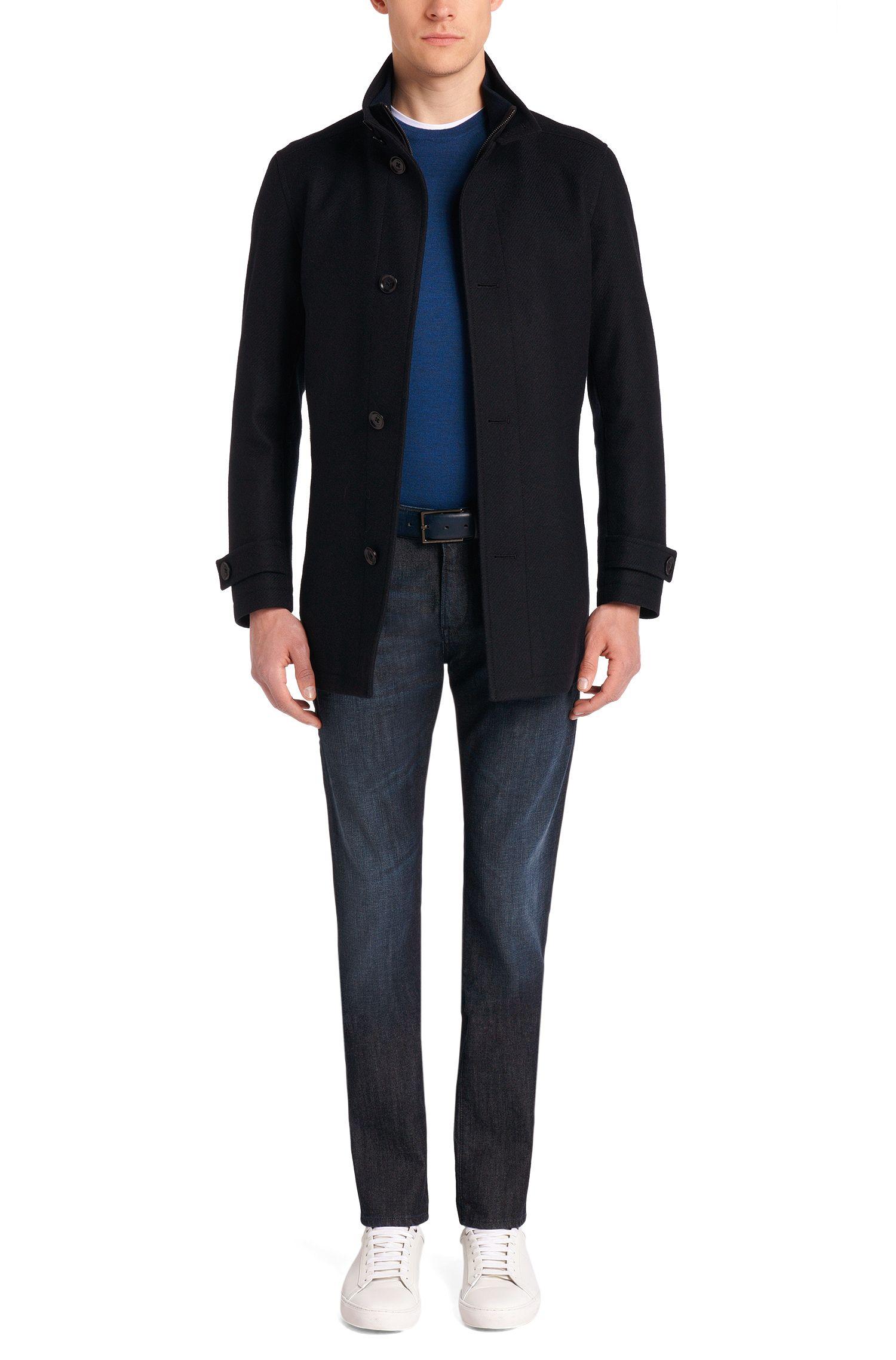 Slim-fit jeans van stretchkatoen in 5-pocket-stijl: 'Delaware3-1'