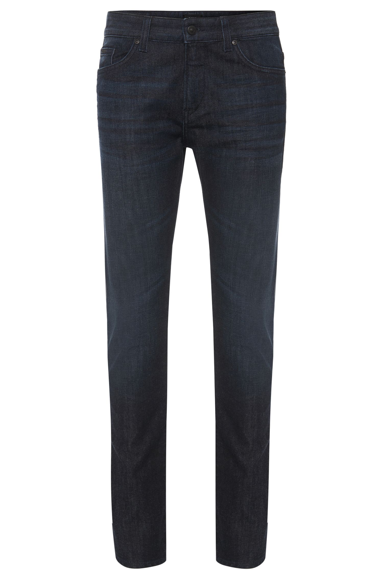 Slim-Fit Jeans aus Stretch-Baumwolle im Five-Pocket-Stil: 'Delaware3-1'
