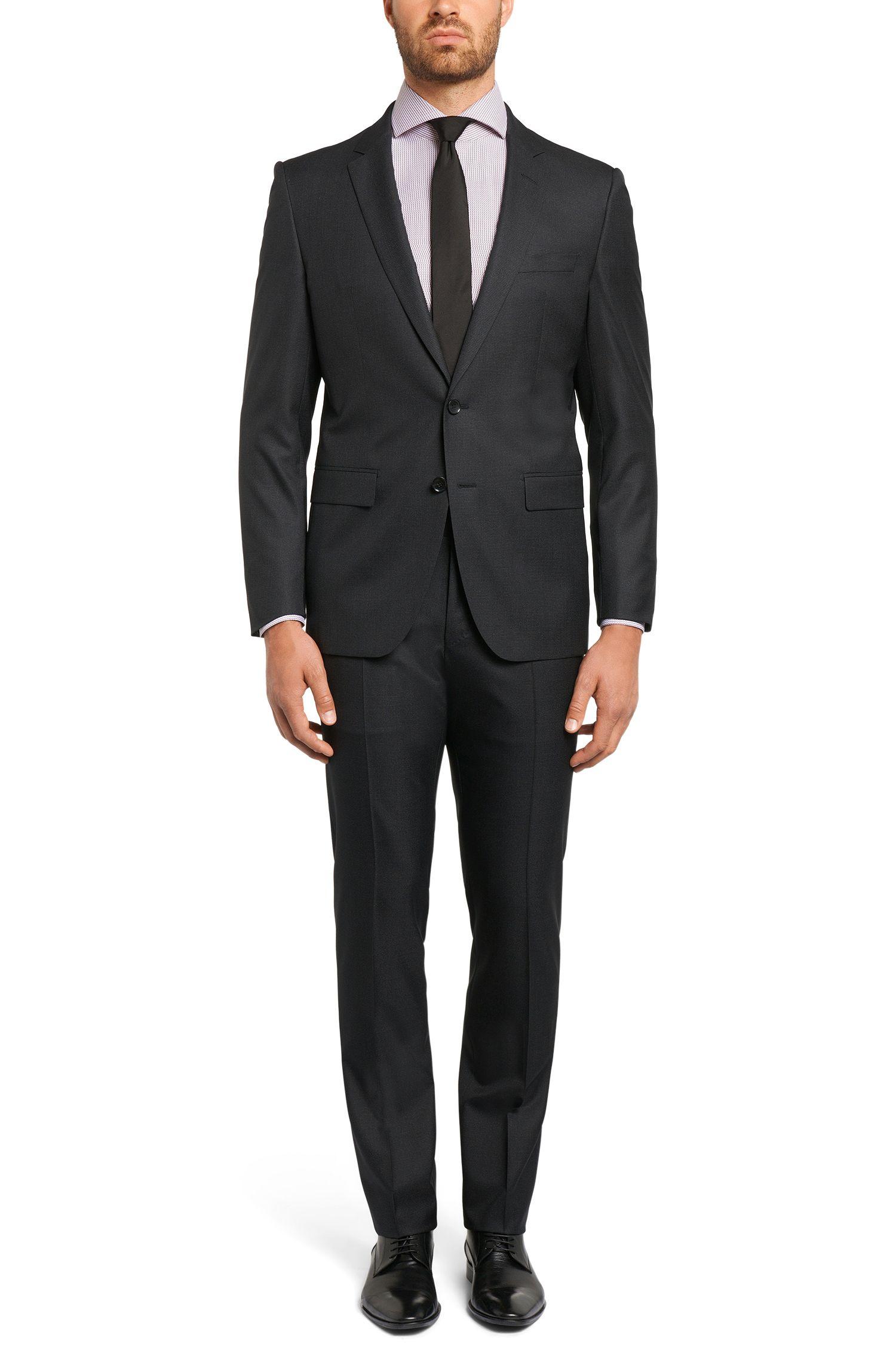 Regular-Fit Tailored Hemd aus Baumwolle: 'T-Stenson'
