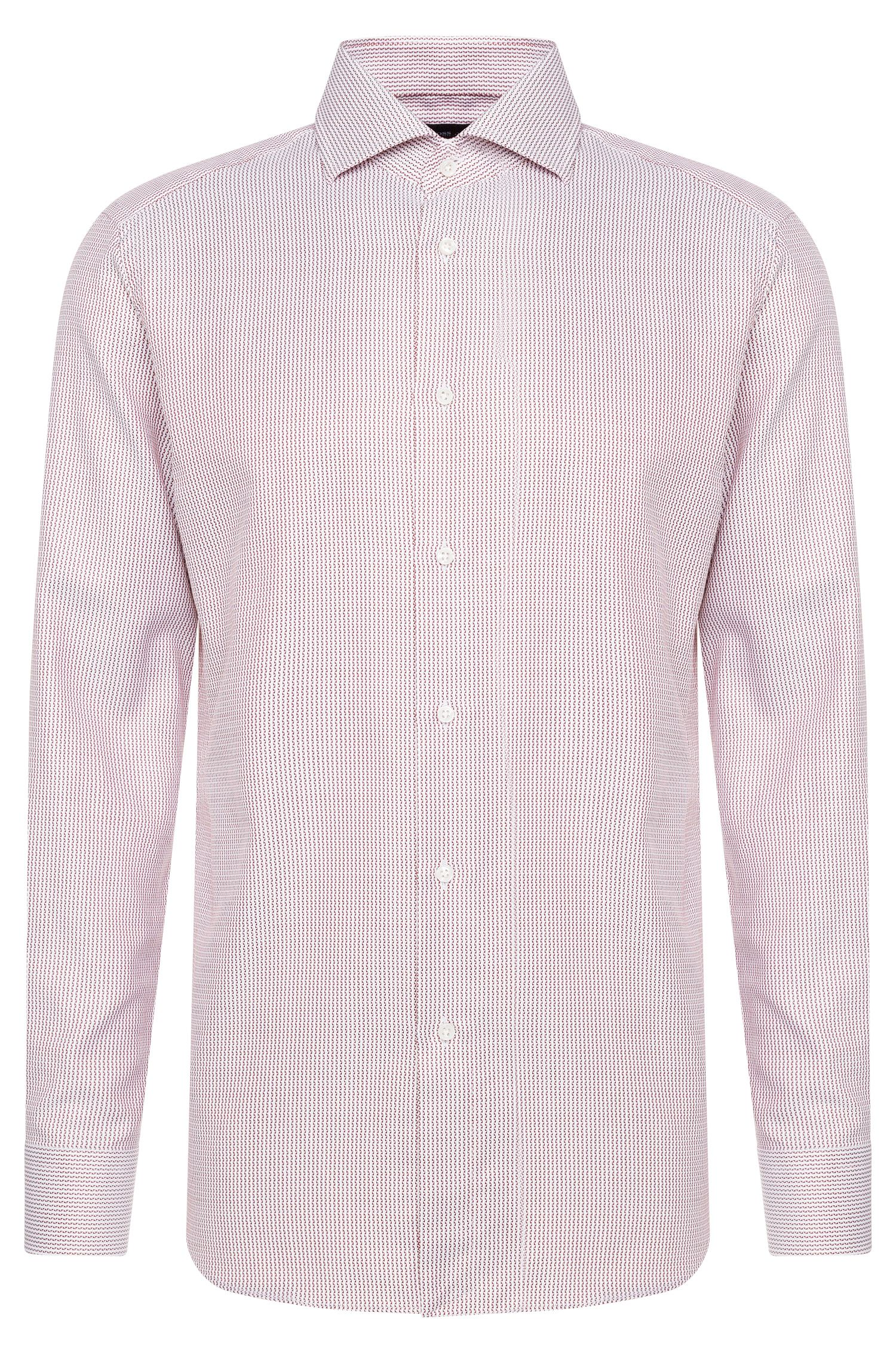 Regular-fit Tailored shirt in cotton: 'T-Stenson'