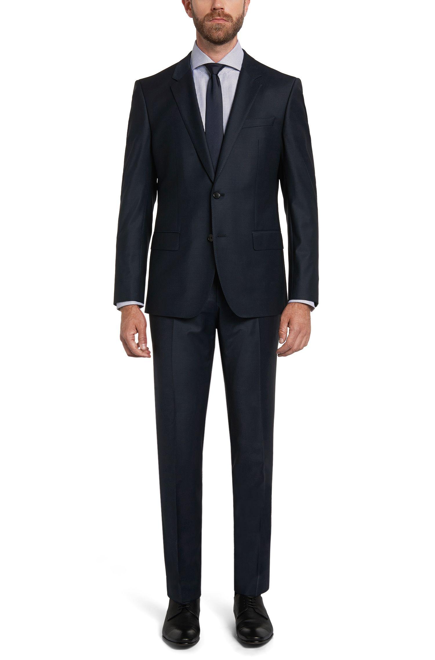 Chemise en coton Slim Fit Tailored avec imprimé graphique: «T-Christo»
