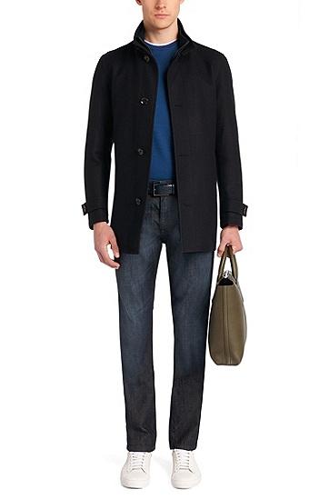 Comfort-Fit Jeans aus Stretch-Baumwolle: 'Albany', Blau