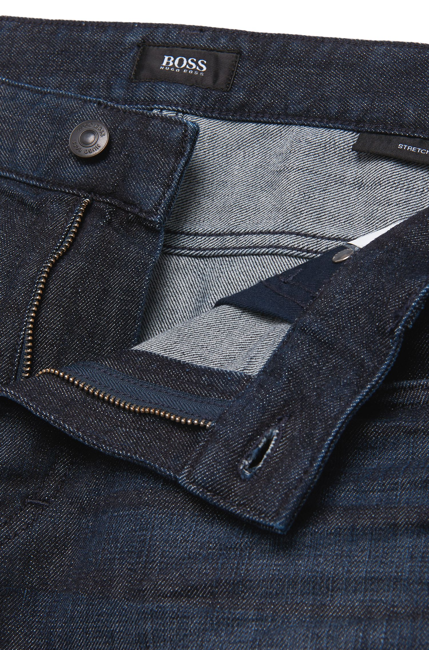 Comfort-Fit Jeans aus Stretch-Baumwolle: 'Albany'
