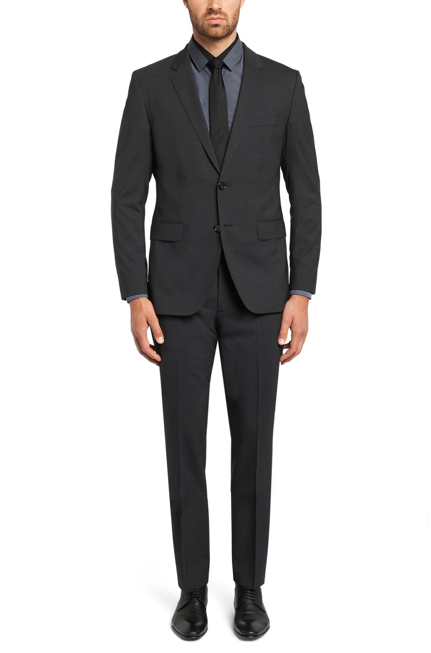 Slim-Fit Hemd aus reiner Baumwolle mit Kontrast-Details: 'Jarret'