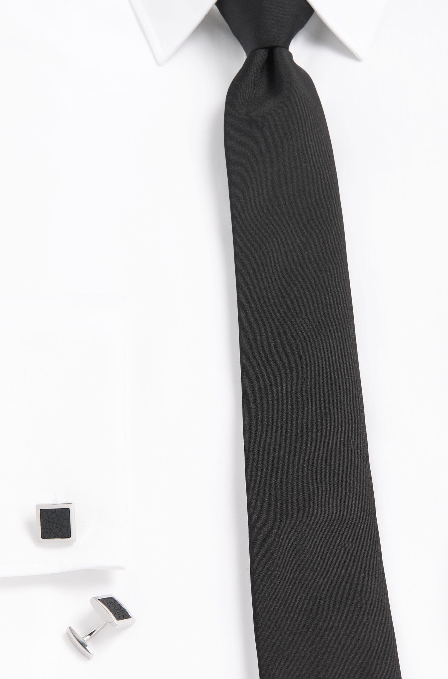 Manschettenknöpfe aus Messing mit kontrastfarbenem Einsatz: 'Mhylo'