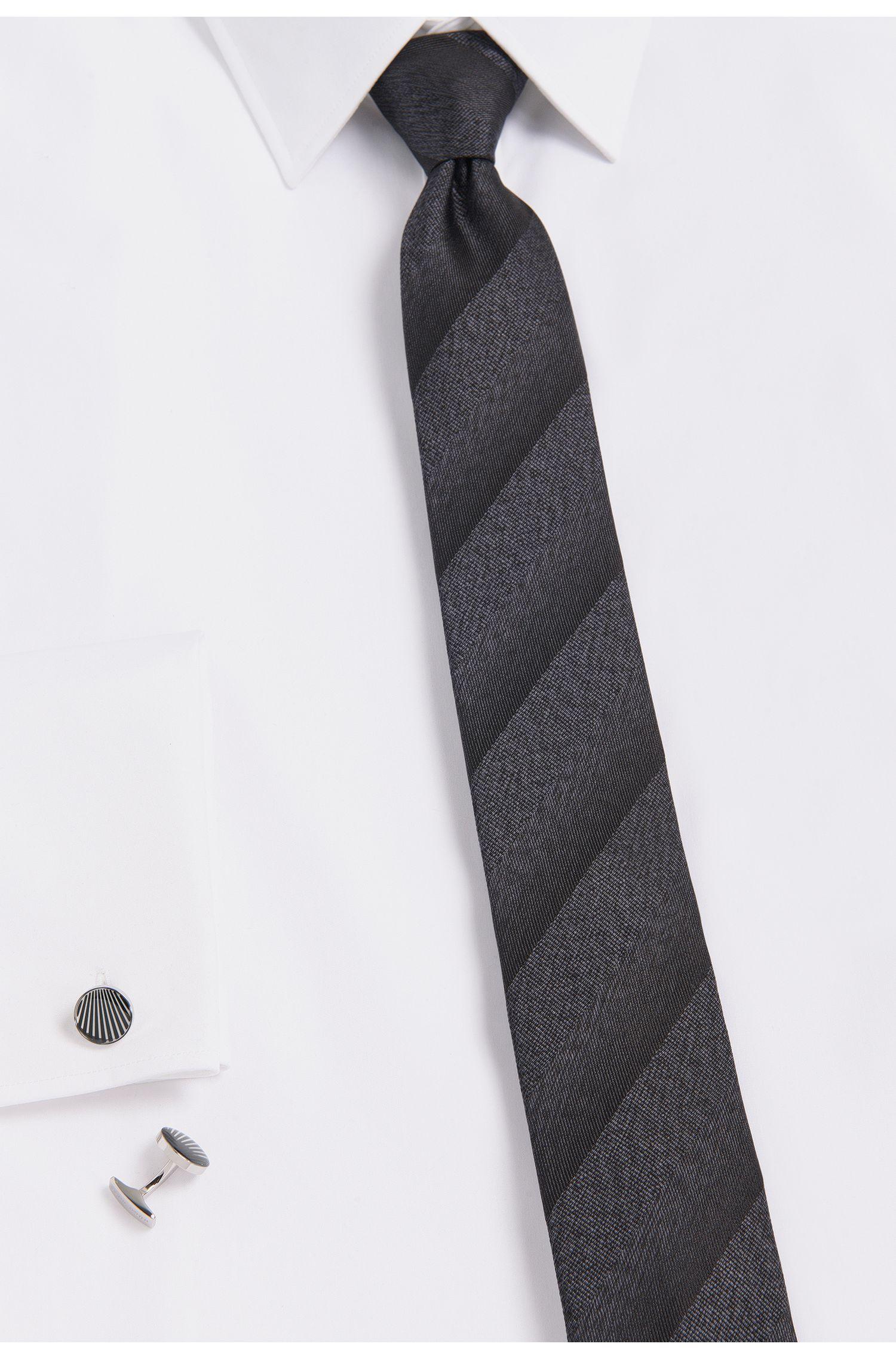 Runde Manschettenknöpfe aus Messing mit Emaille-Details: 'Simon'