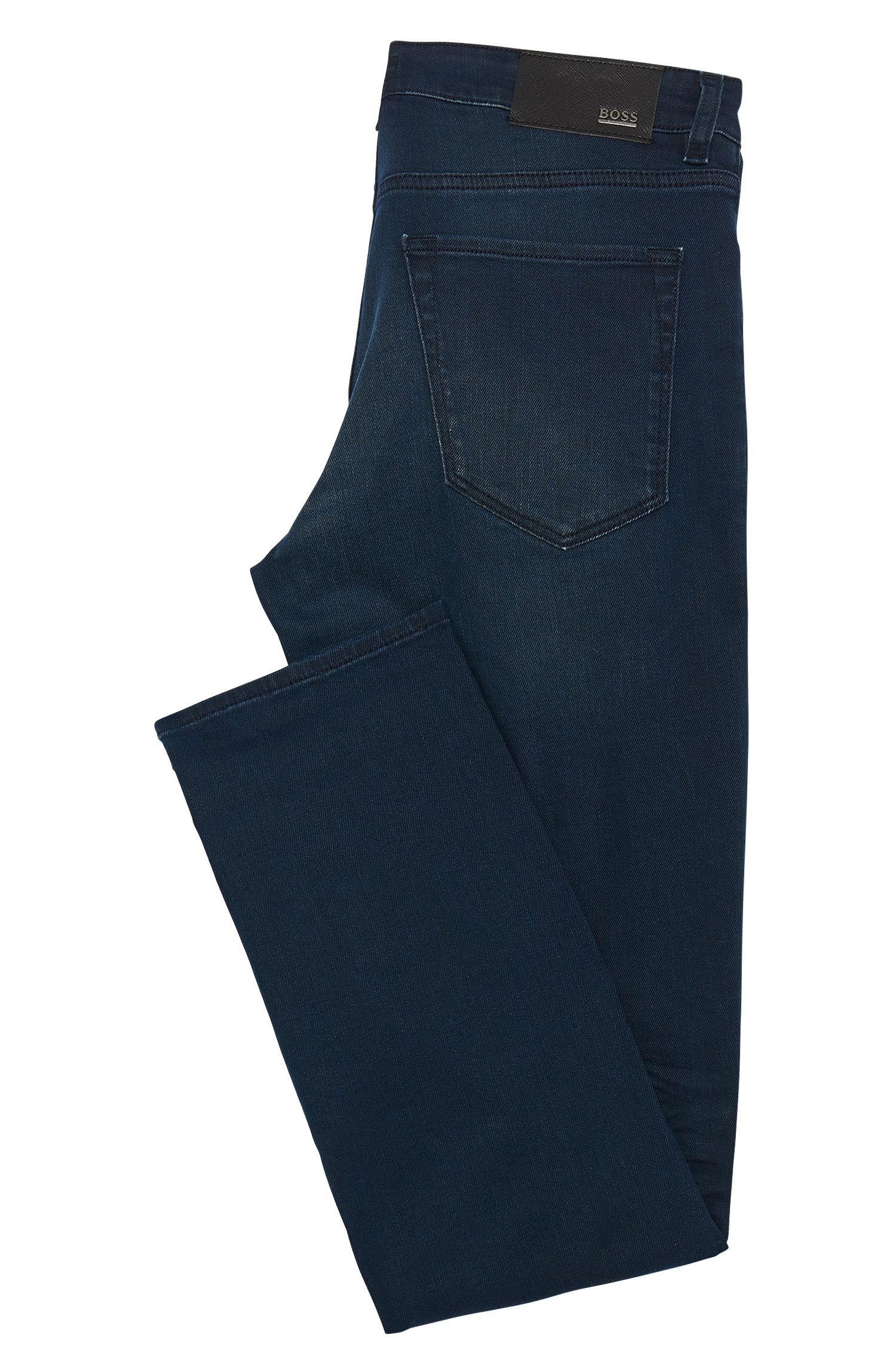 Regular-fit jeans van een elastische katoenmix: 'Maine3'