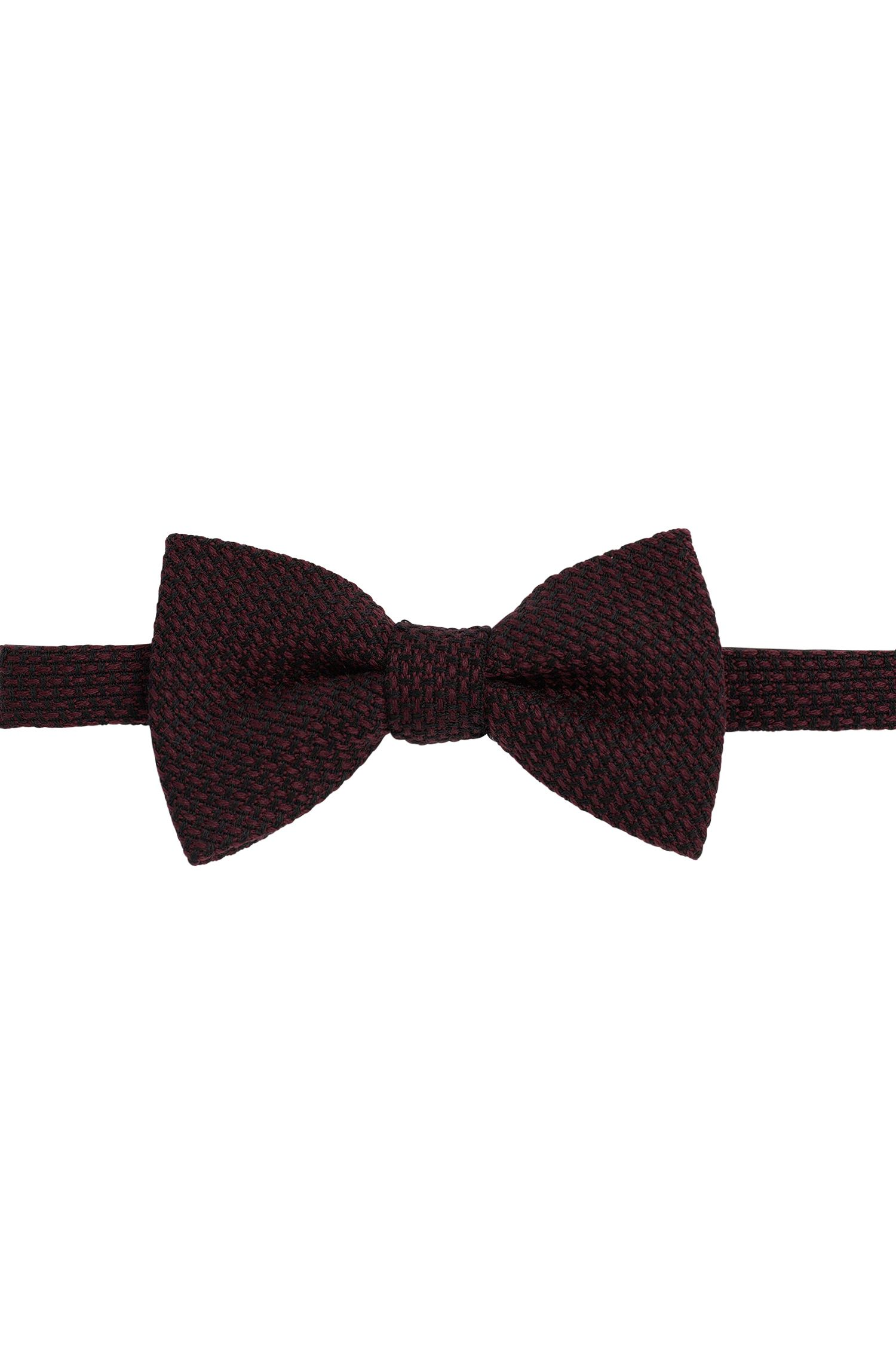 2-tone bow-tie in wool: 'Big bow tie'