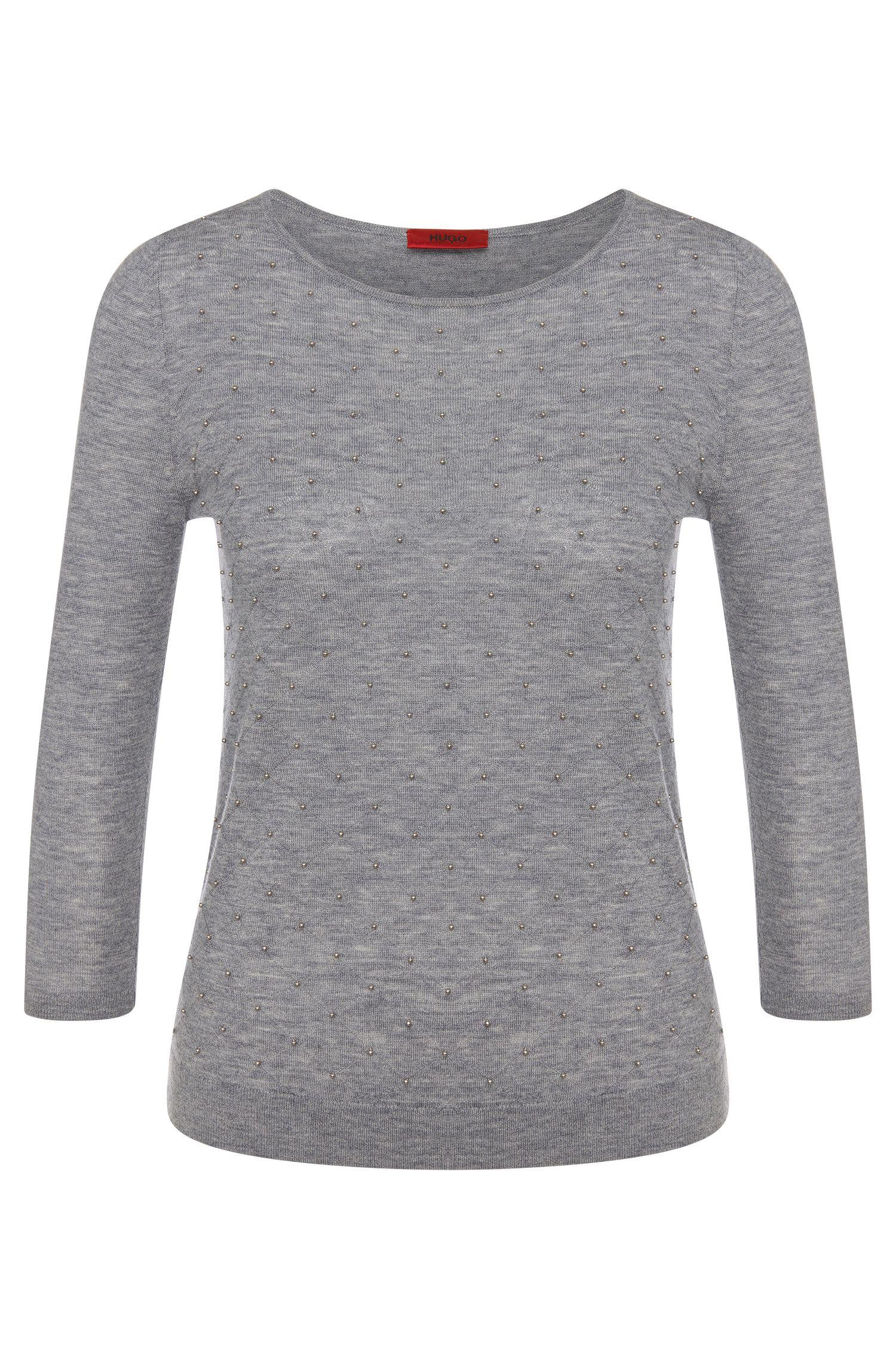 Jersey en mezcla de lana virgen con cachemira: 'Selline'