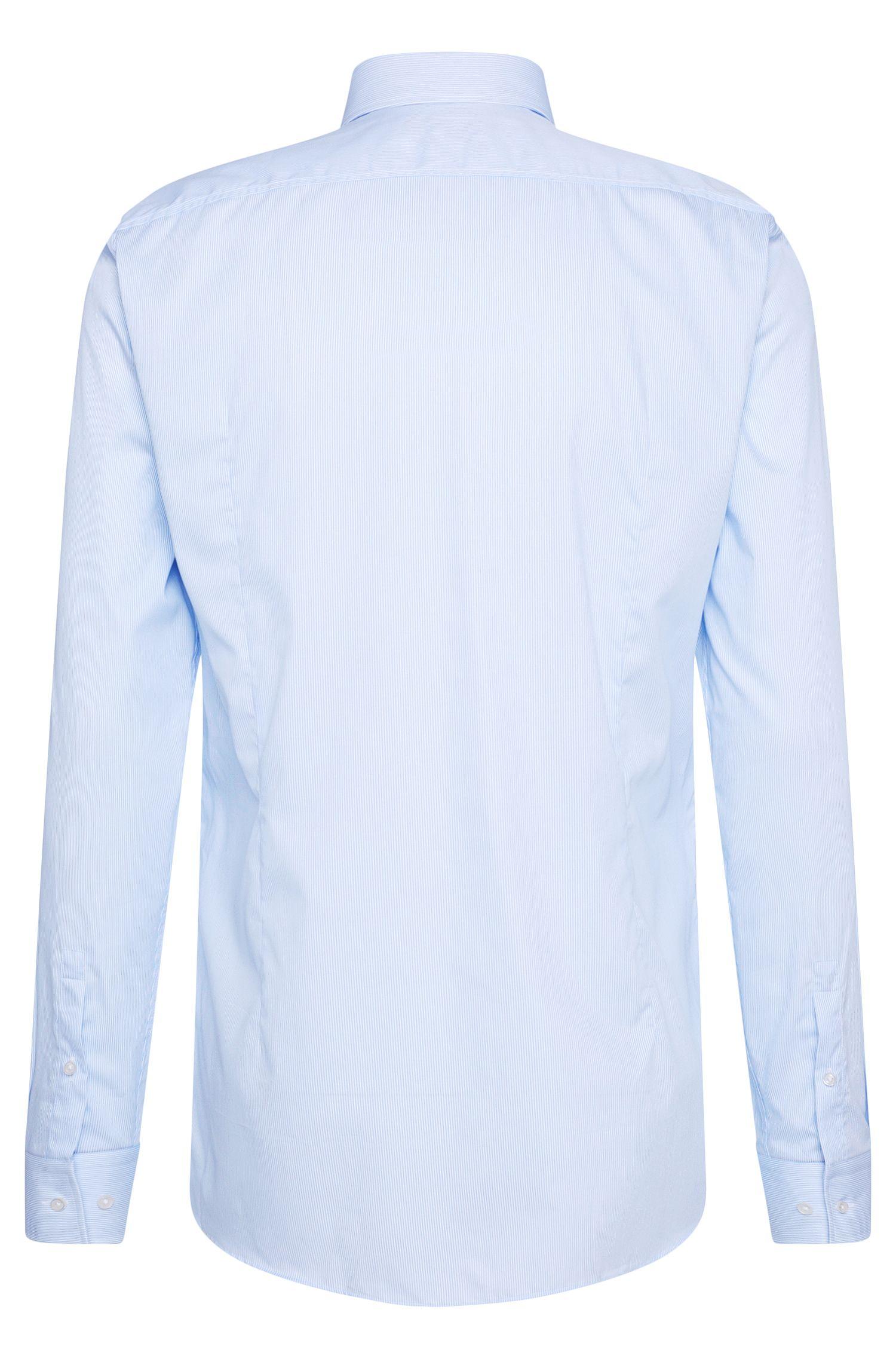 Gestreiftes Slim-Fit Hemd aus Baumwolle: 'Juan'